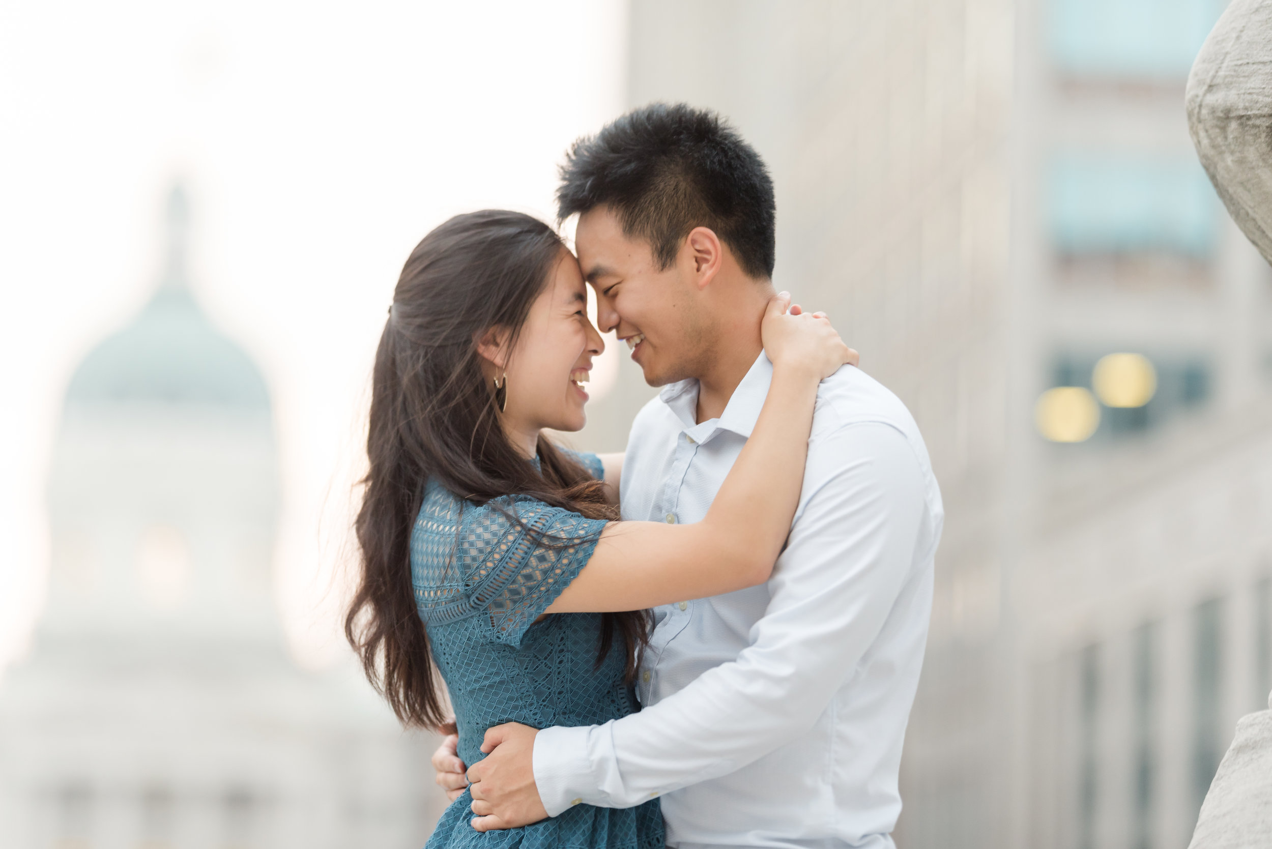Best Engagement Session Locations in Indianapolis Monument Circle