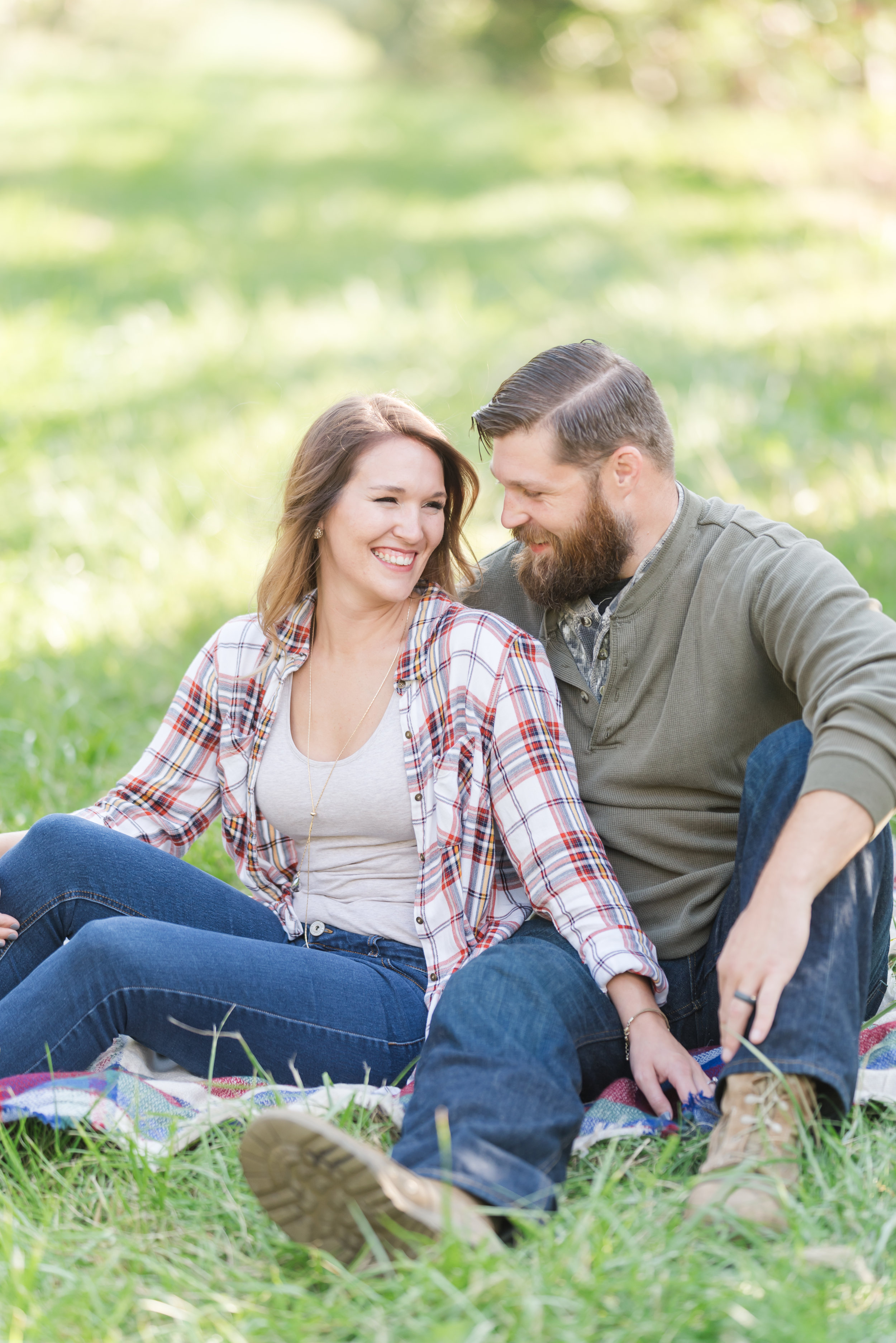 Best Engagement Session Locations in Indianapolis Apple Orchard
