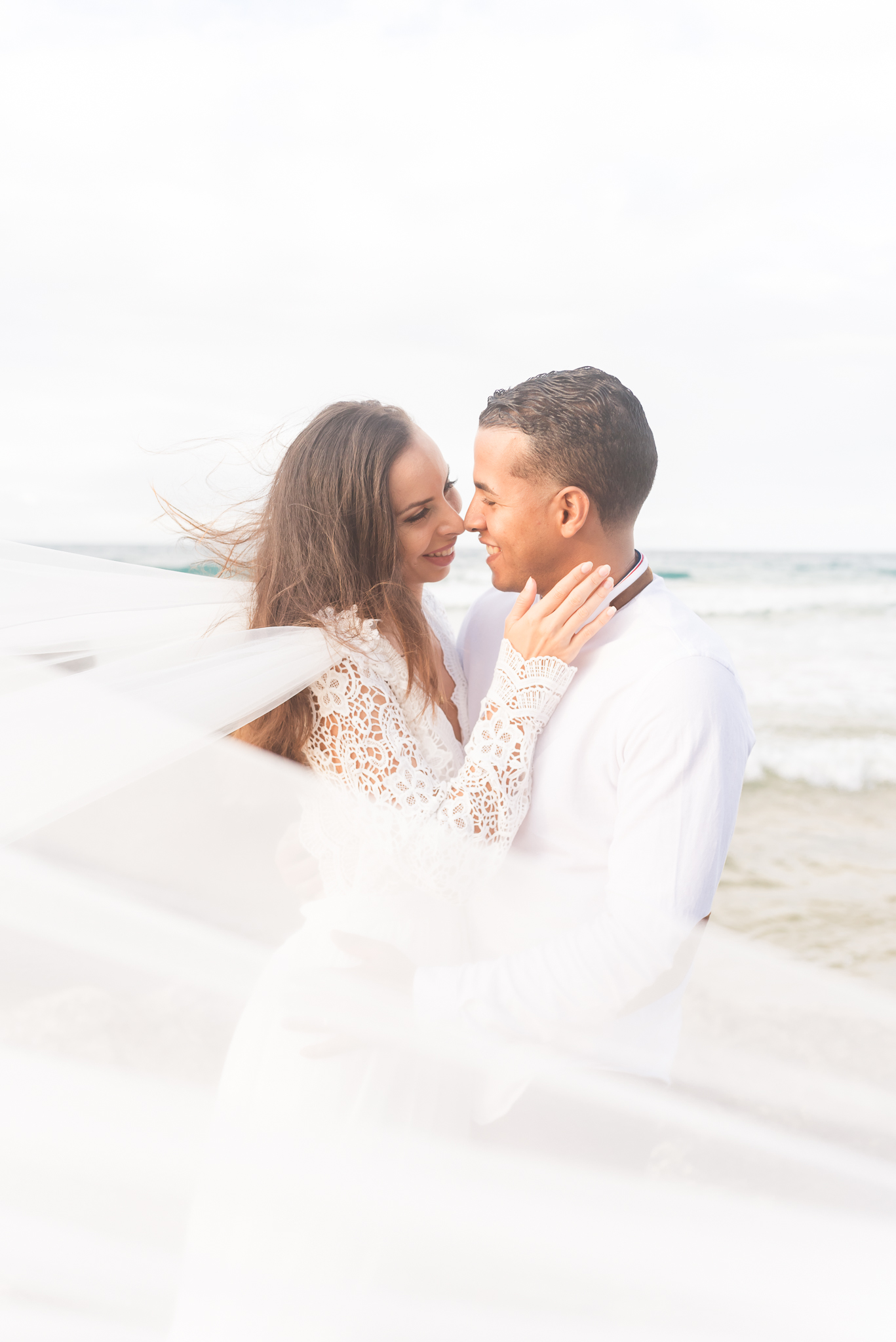 San Juan Destination Wedding Photographers Beach Wedding in Luquillo Puerto Rico-4.jpg