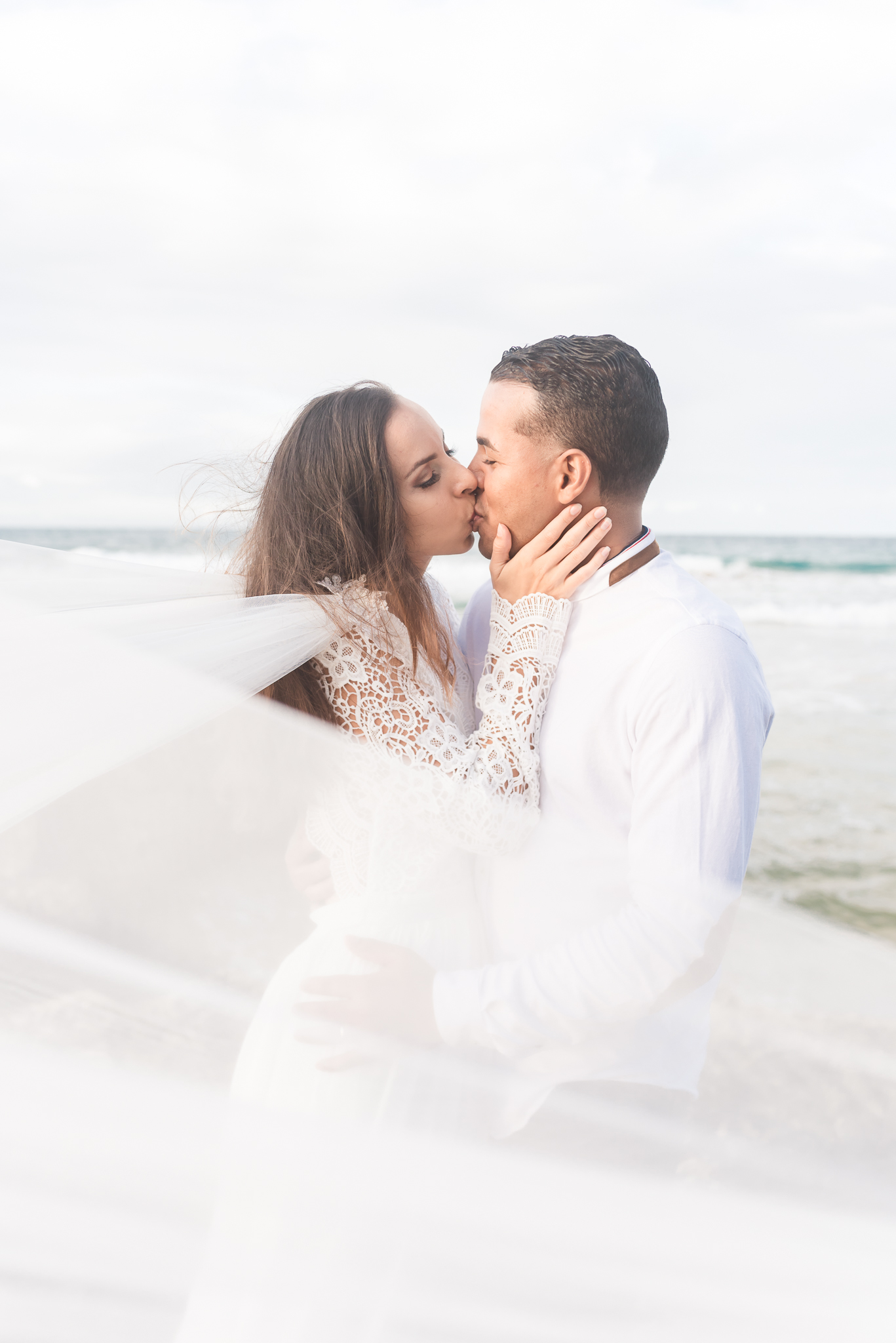 San Juan Destination Wedding Photographers Beach Wedding in Luquillo Puerto Rico-5.jpg