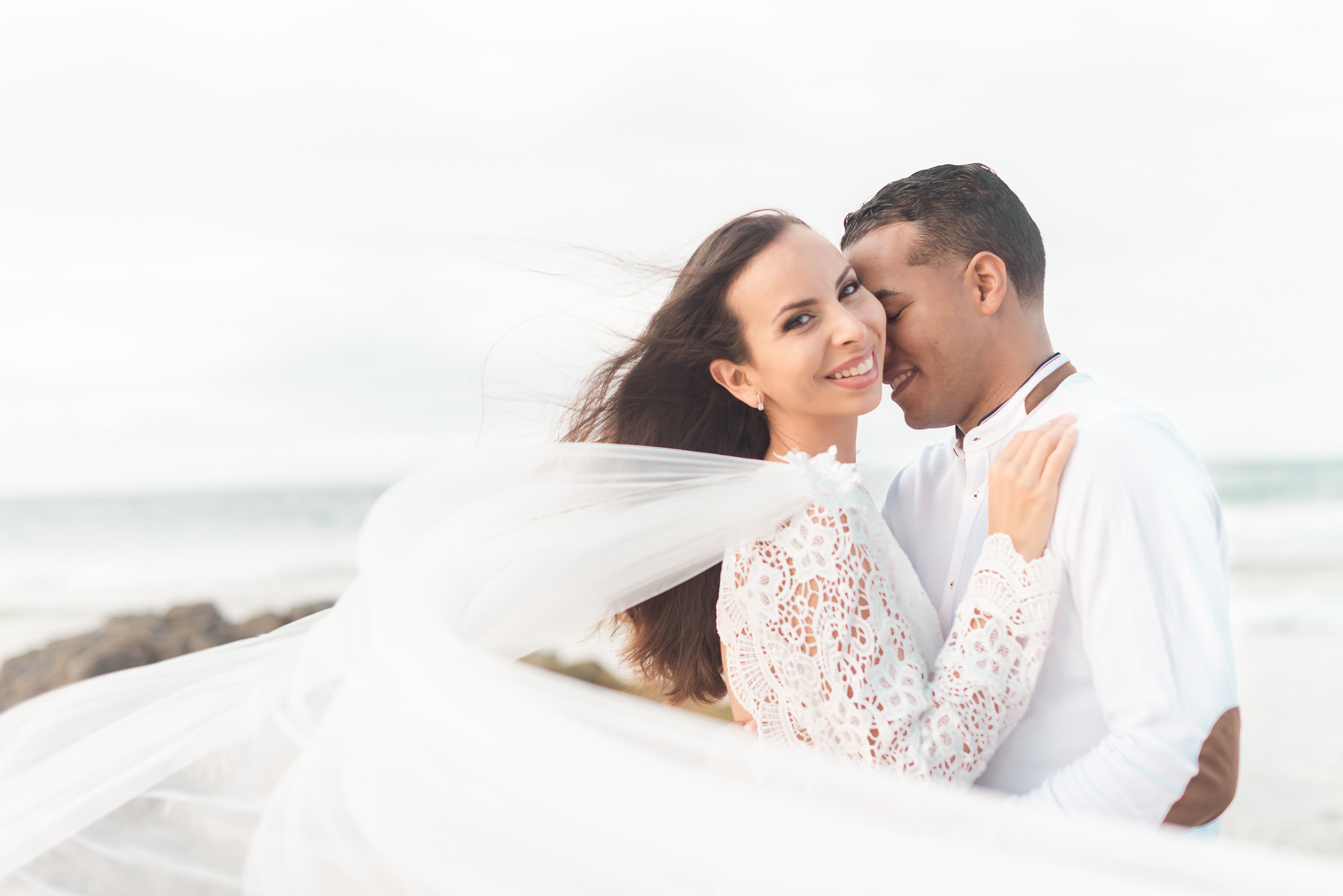 San Juan Destination Wedding Photographers Beach Wedding in Luquillo Puerto Rico-11.jpg