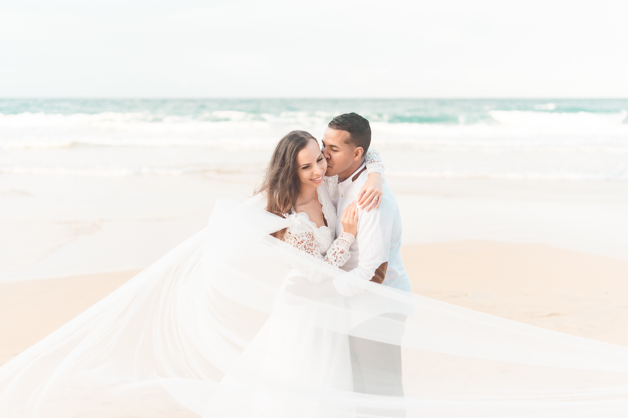 San Juan Destination Wedding Photographers Beach Wedding in Luquillo Puerto Rico-33.jpg