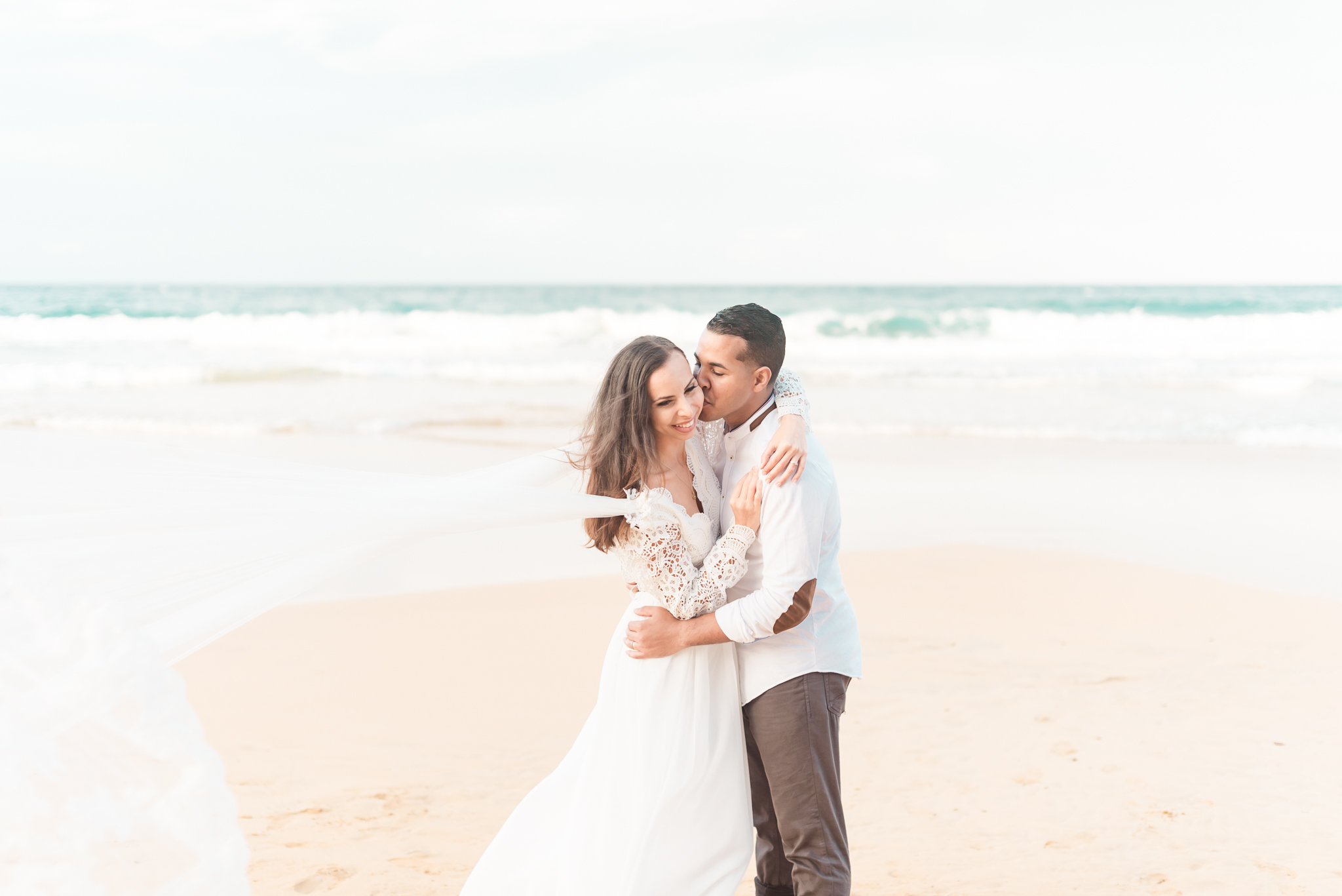 San Juan Destination Wedding Photographers Beach Wedding in Luquillo Puerto Rico-34.jpg
