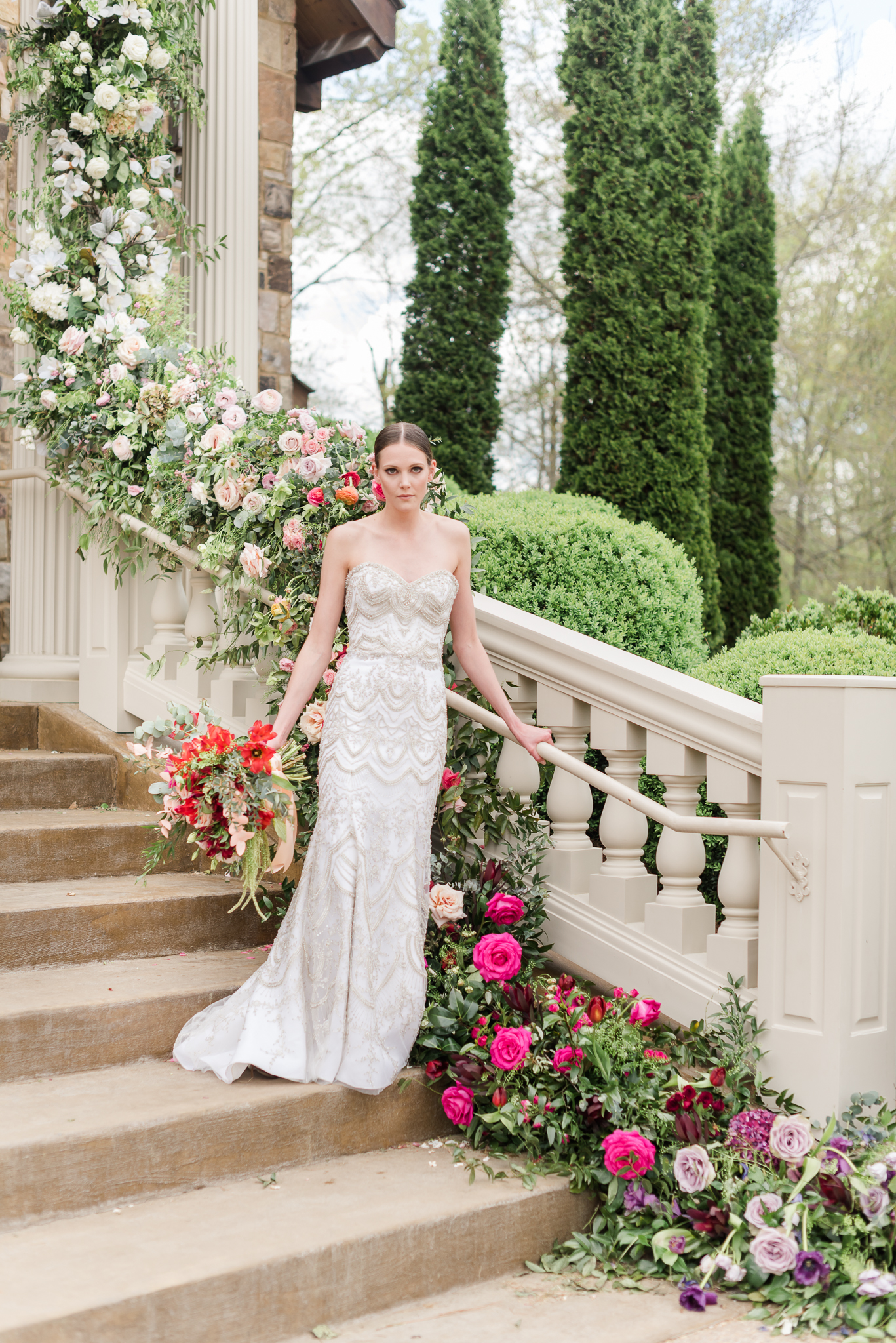 Wedding Day Bridal Portraits with flowers-20.jpg