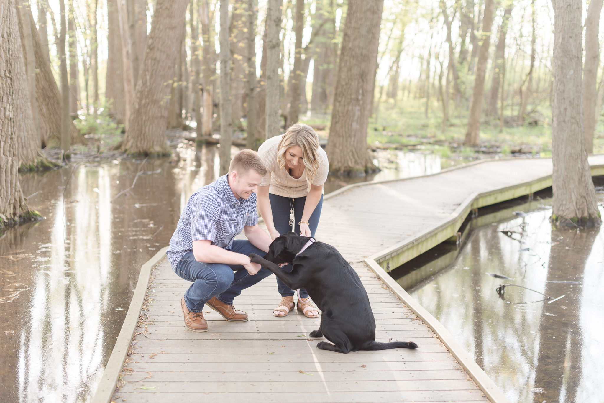 Richie Woods Nature Preserve and Mustard Seed Gardens Engagement Session Wedding Photos-3.jpg