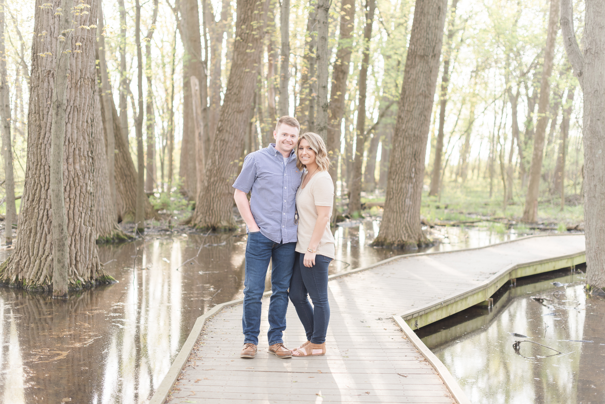 Richie Woods Nature Preserve and Mustard Seed Gardens Engagement Session Wedding Photos-4.jpg