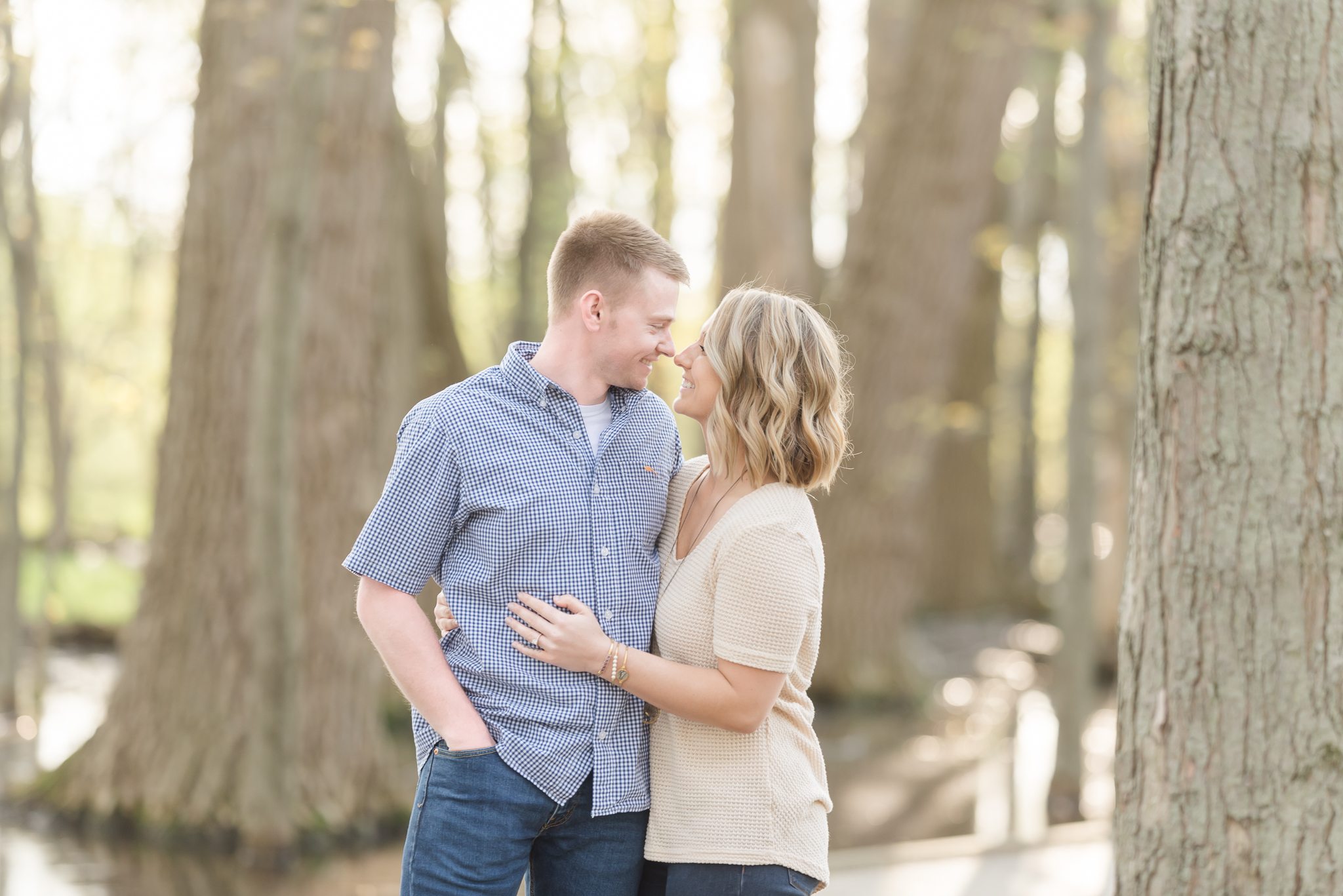 Richie Woods Nature Preserve and Mustard Seed Gardens Engagement Session Wedding Photos-5.jpg