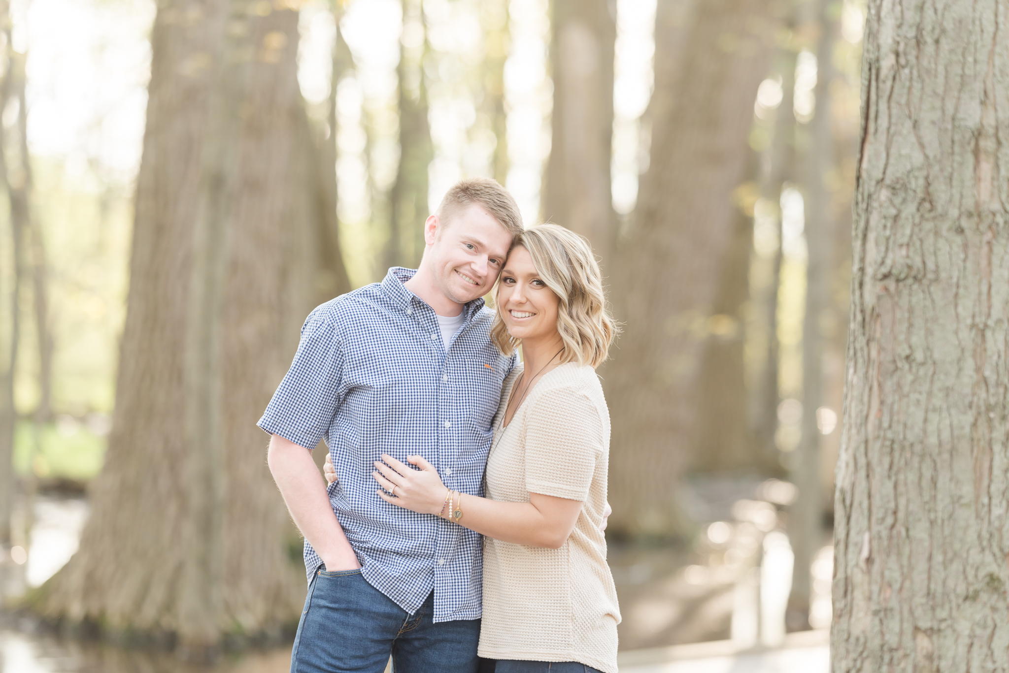 Richie Woods Nature Preserve and Mustard Seed Gardens Engagement Session Wedding Photos-6.jpg