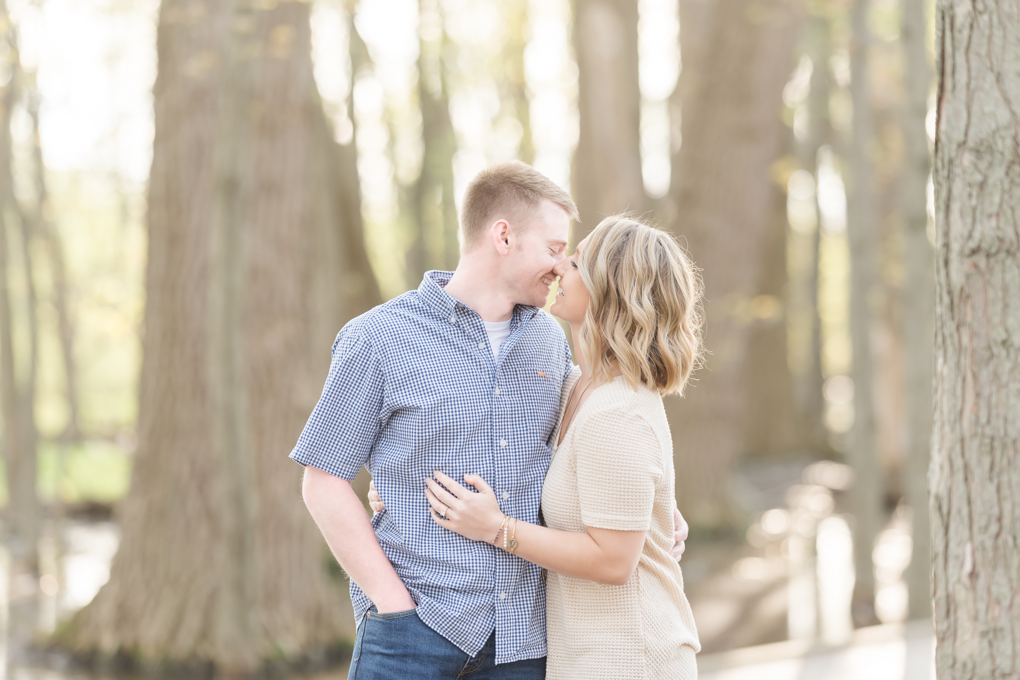 Richie Woods Nature Preserve and Mustard Seed Gardens Engagement Session Wedding Photos-7.jpg