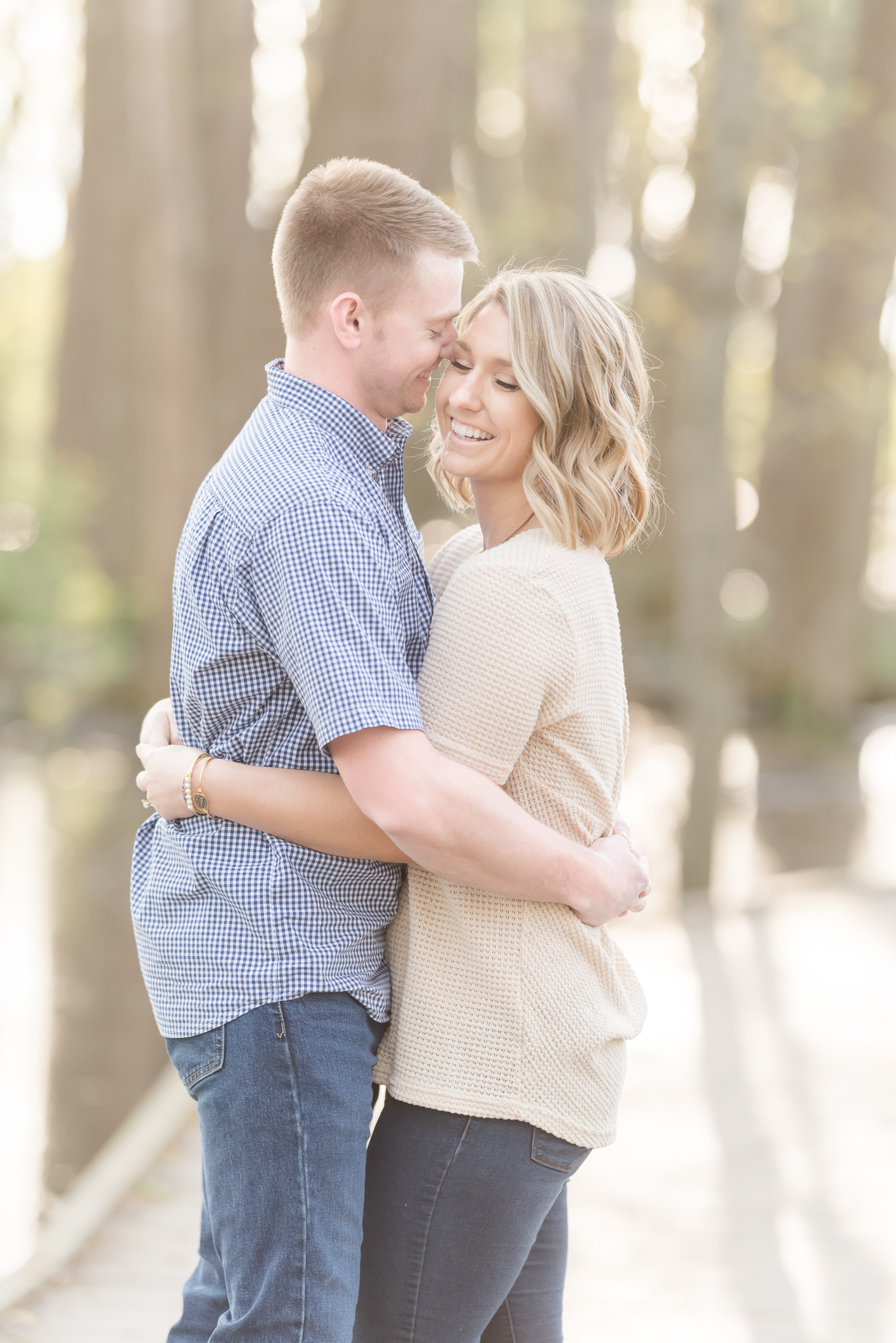 Richie Woods Nature Preserve and Mustard Seed Gardens Engagement Session Wedding Photos-12.jpg