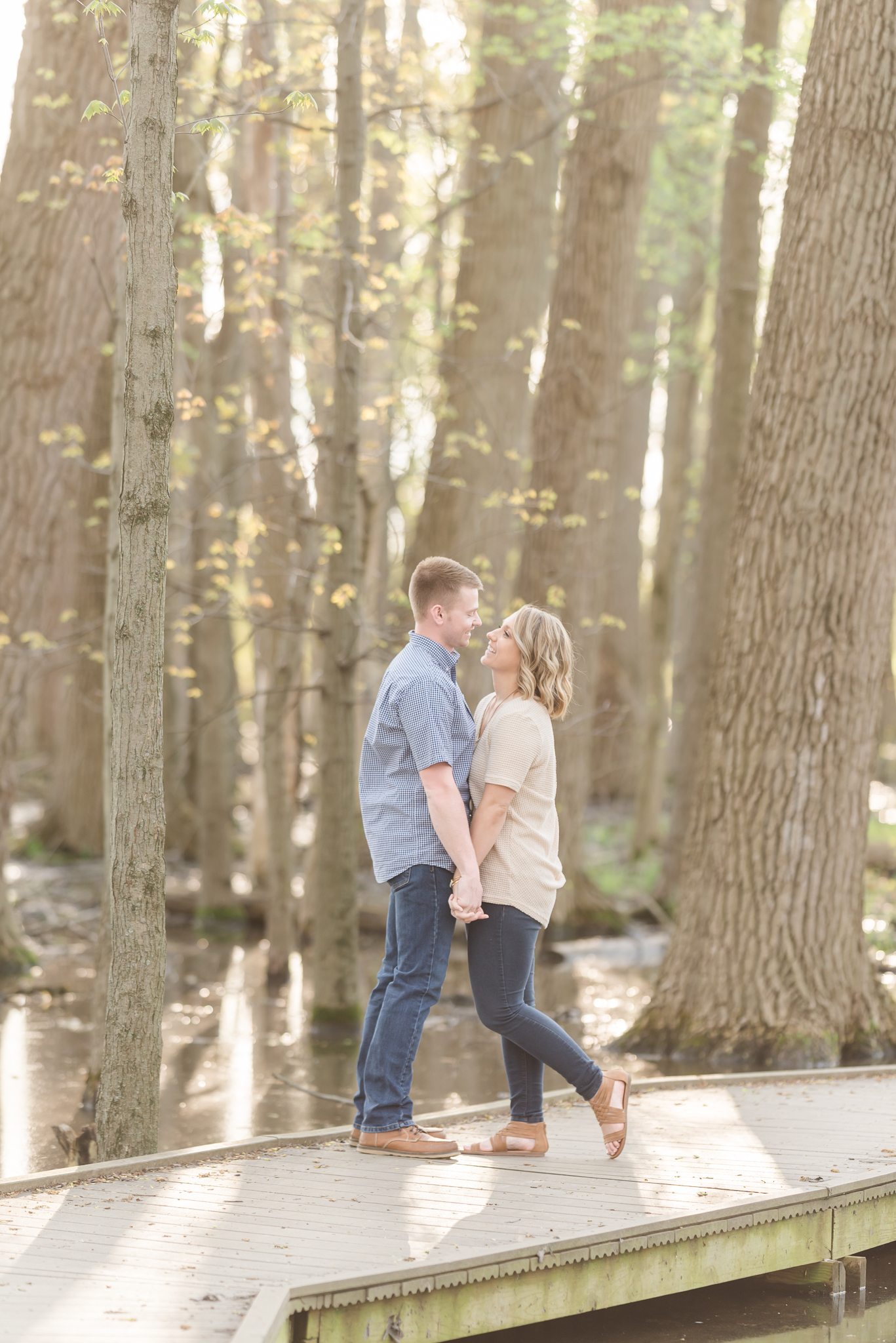 Richie Woods Nature Preserve and Mustard Seed Gardens Engagement Session Wedding Photos-17.jpg