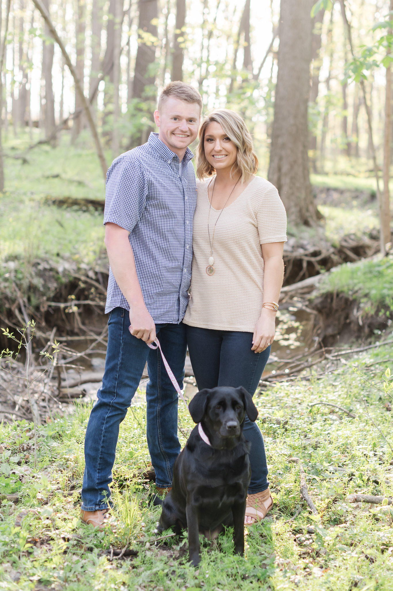 Richie Woods Nature Preserve and Mustard Seed Gardens Engagement Session Wedding Photos-18.jpg