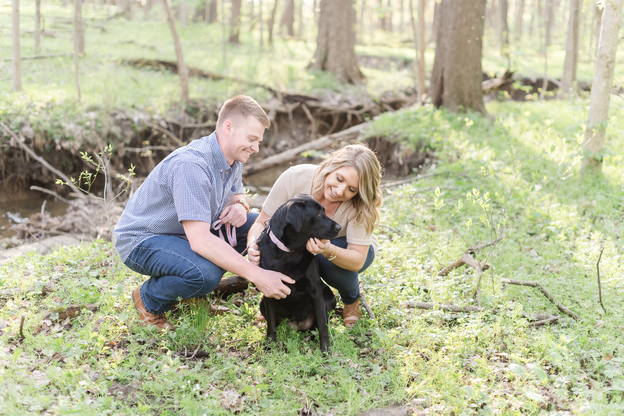 Richie Woods Nature Preserve and Mustard Seed Gardens Engagement Session Wedding Photos-19.jpg