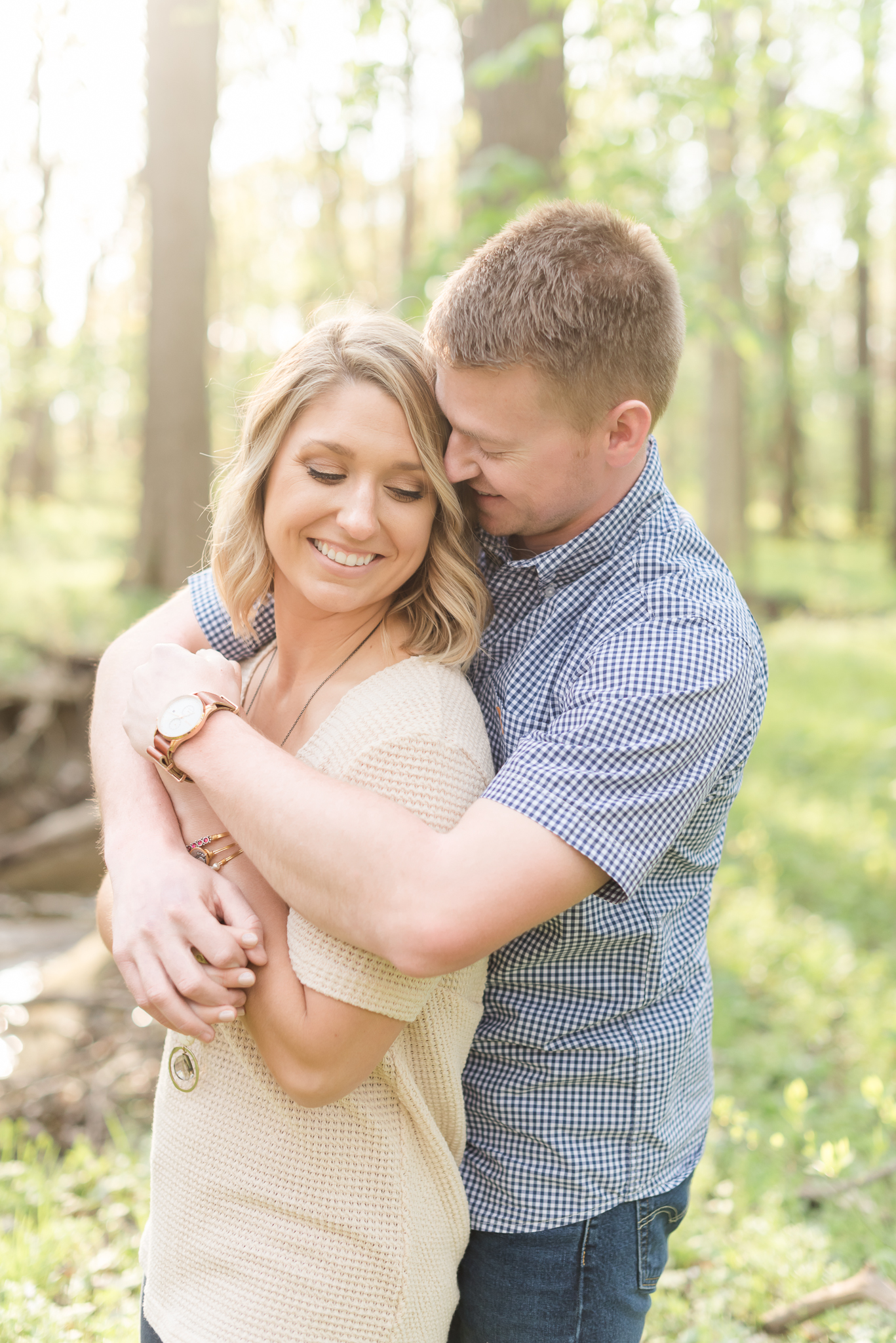 Richie Woods Nature Preserve and Mustard Seed Gardens Engagement Session Wedding Photos-21.jpg