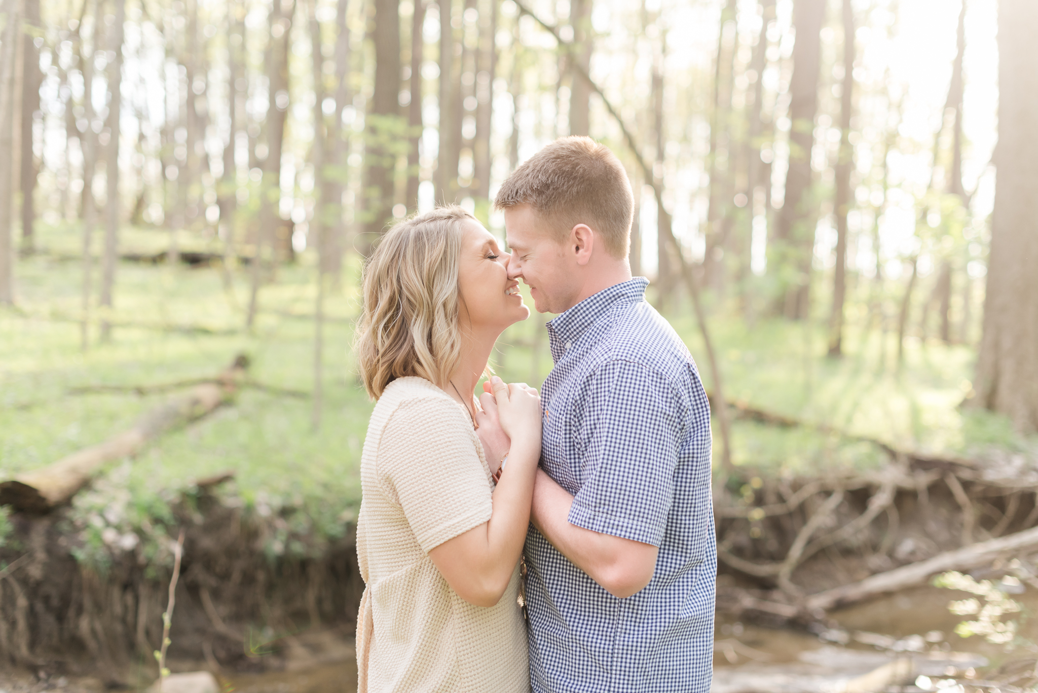 Richie Woods Nature Preserve and Mustard Seed Gardens Engagement Session Wedding Photos-25.jpg