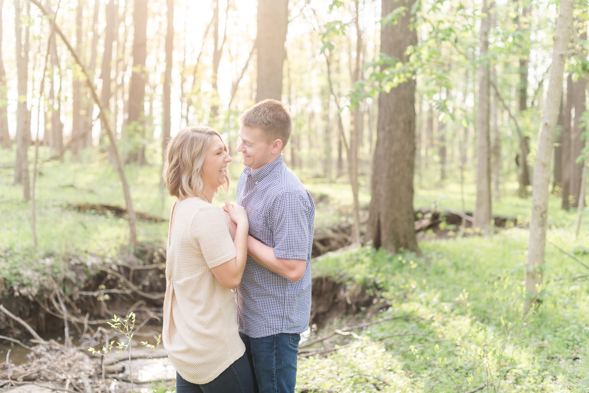 Richie Woods Nature Preserve and Mustard Seed Gardens Engagement Session Wedding Photos-26.jpg