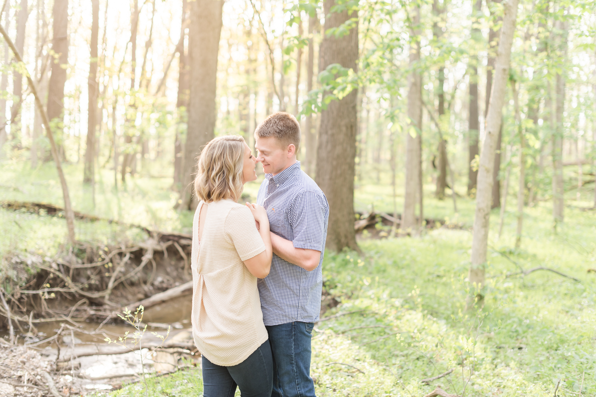 Richie Woods Nature Preserve and Mustard Seed Gardens Engagement Session Wedding Photos-27.jpg