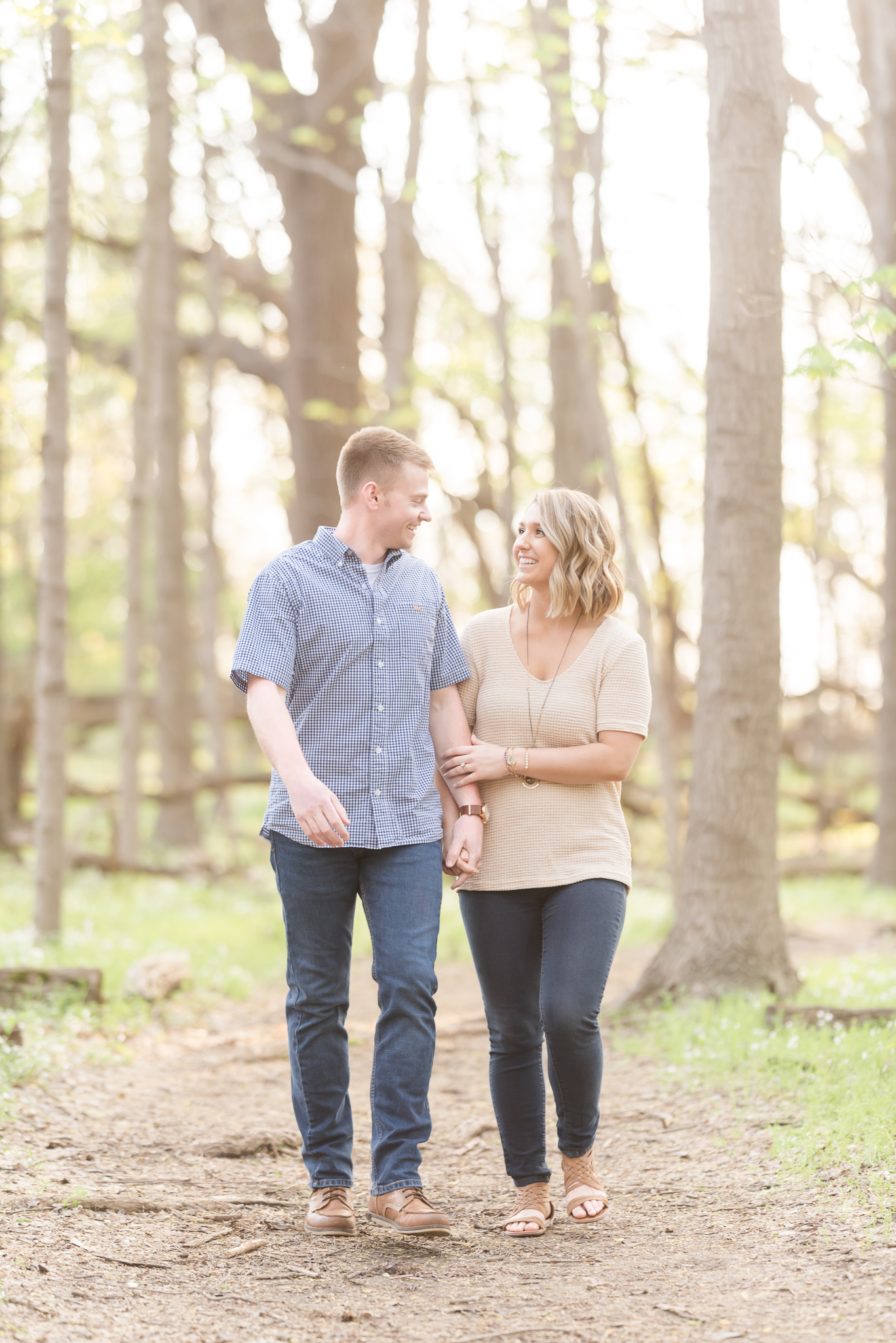 Richie Woods Nature Preserve and Mustard Seed Gardens Engagement Session Wedding Photos-31.jpg