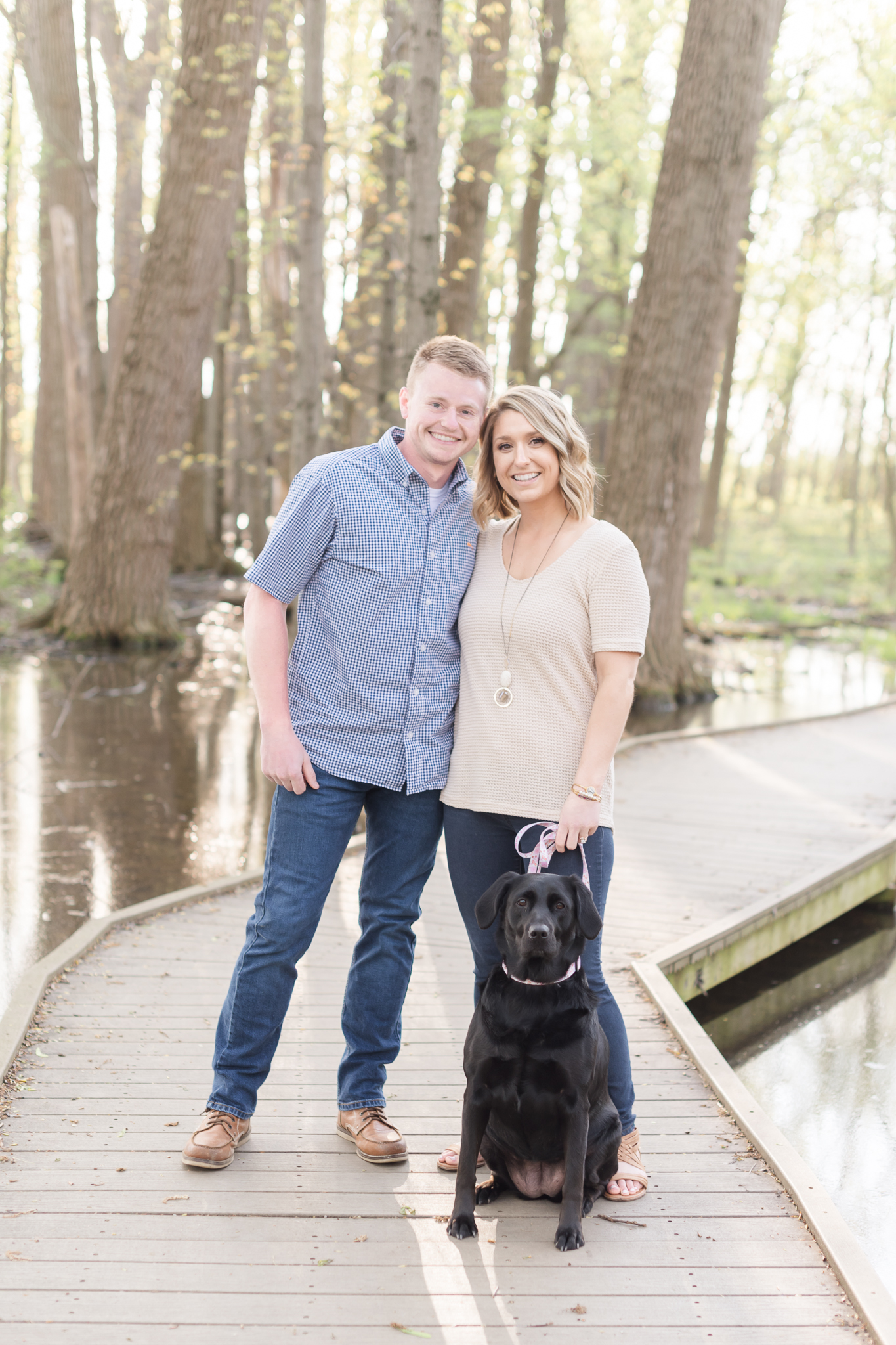Richie Woods Nature Preserve and Mustard Seed Gardens Engagement Session Wedding Photos.jpg