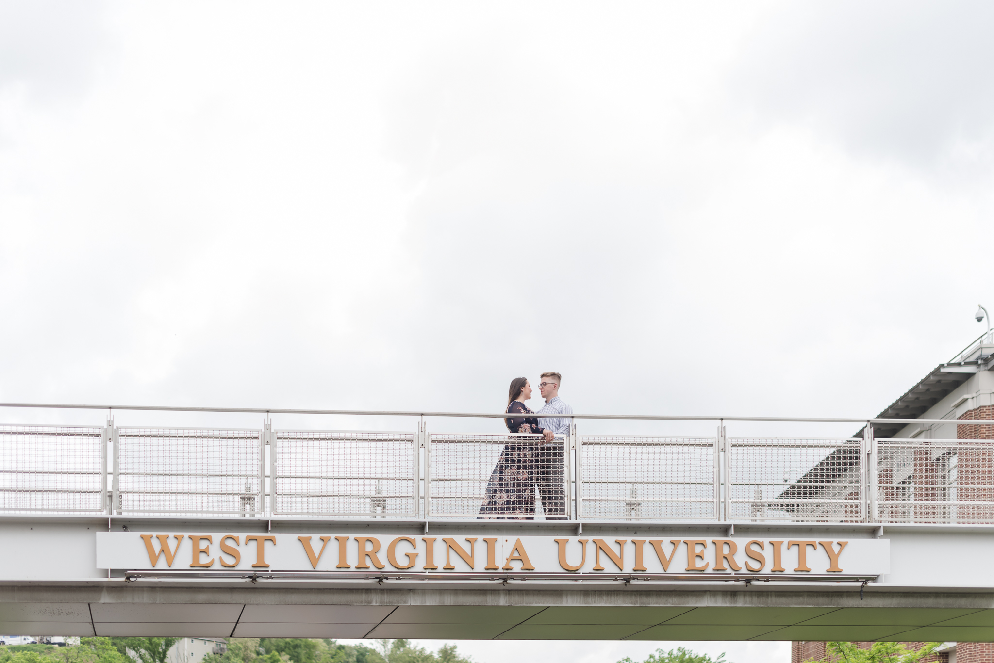 West Virginia University Surprise Proposal During Graduation Ceremony-18.jpg