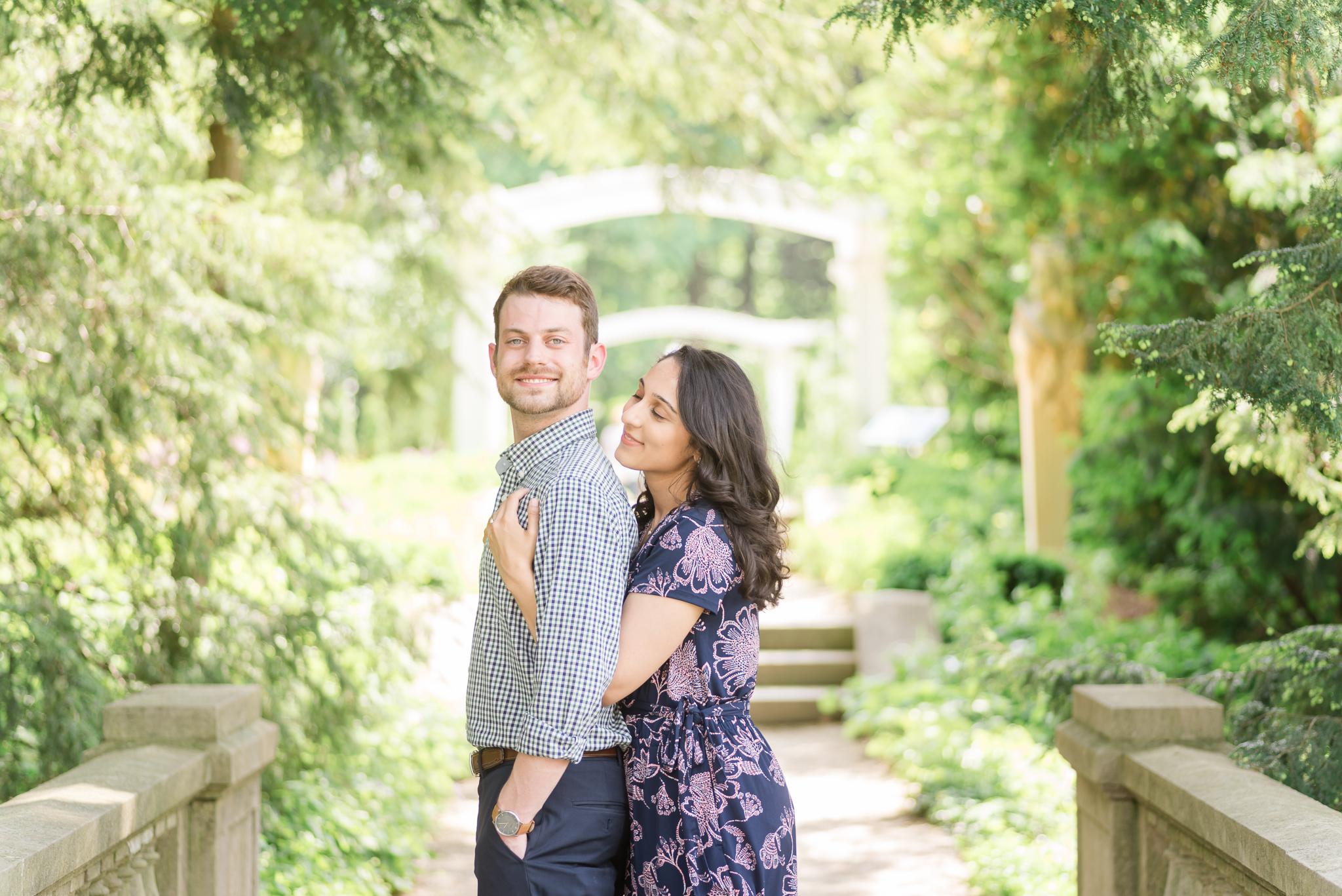 Newfields IMA museum of art engagement session Indianapolis Wedding Photographer-10.jpg