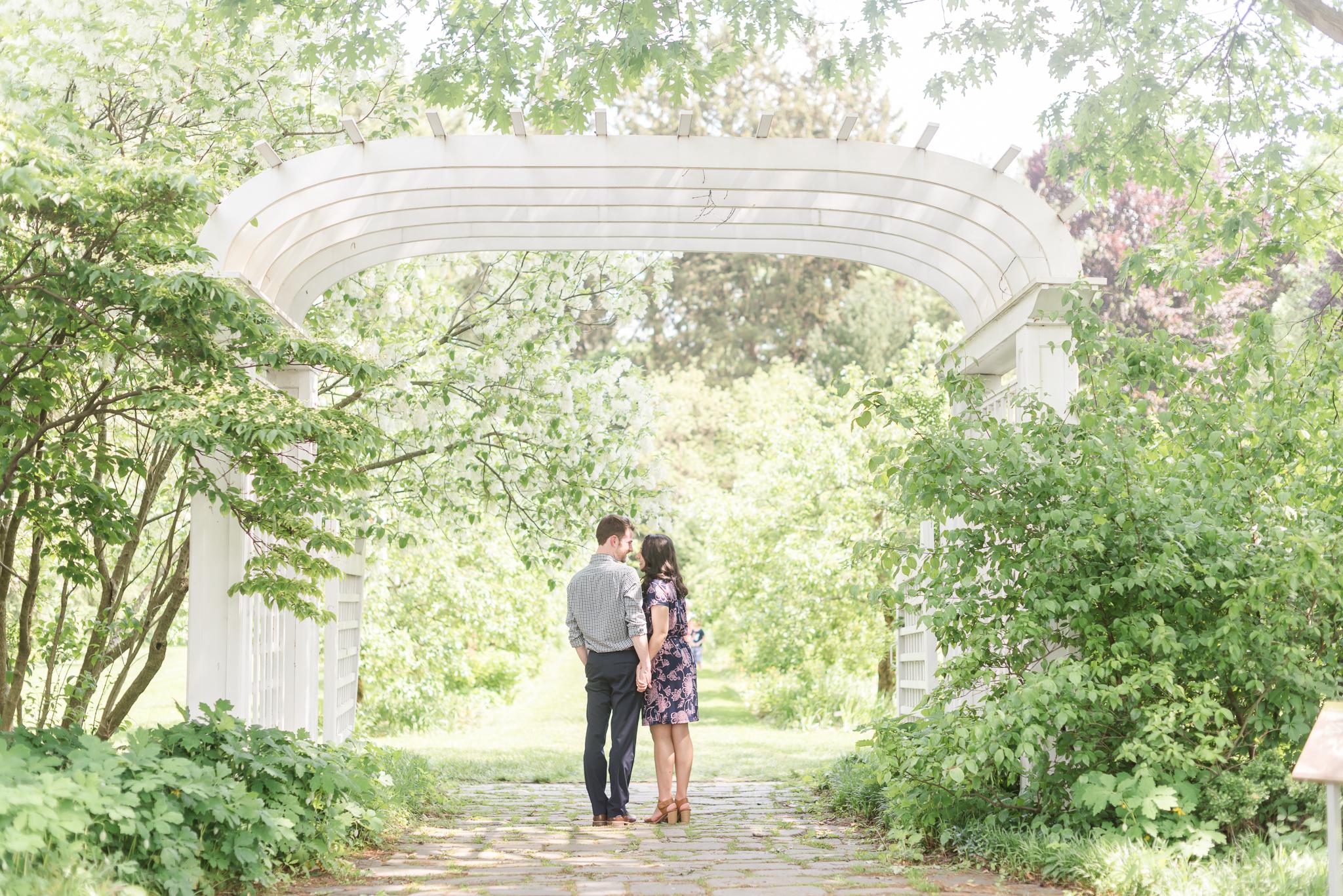 Newfields IMA museum of art engagement session Indianapolis Wedding Photographer-4.jpg