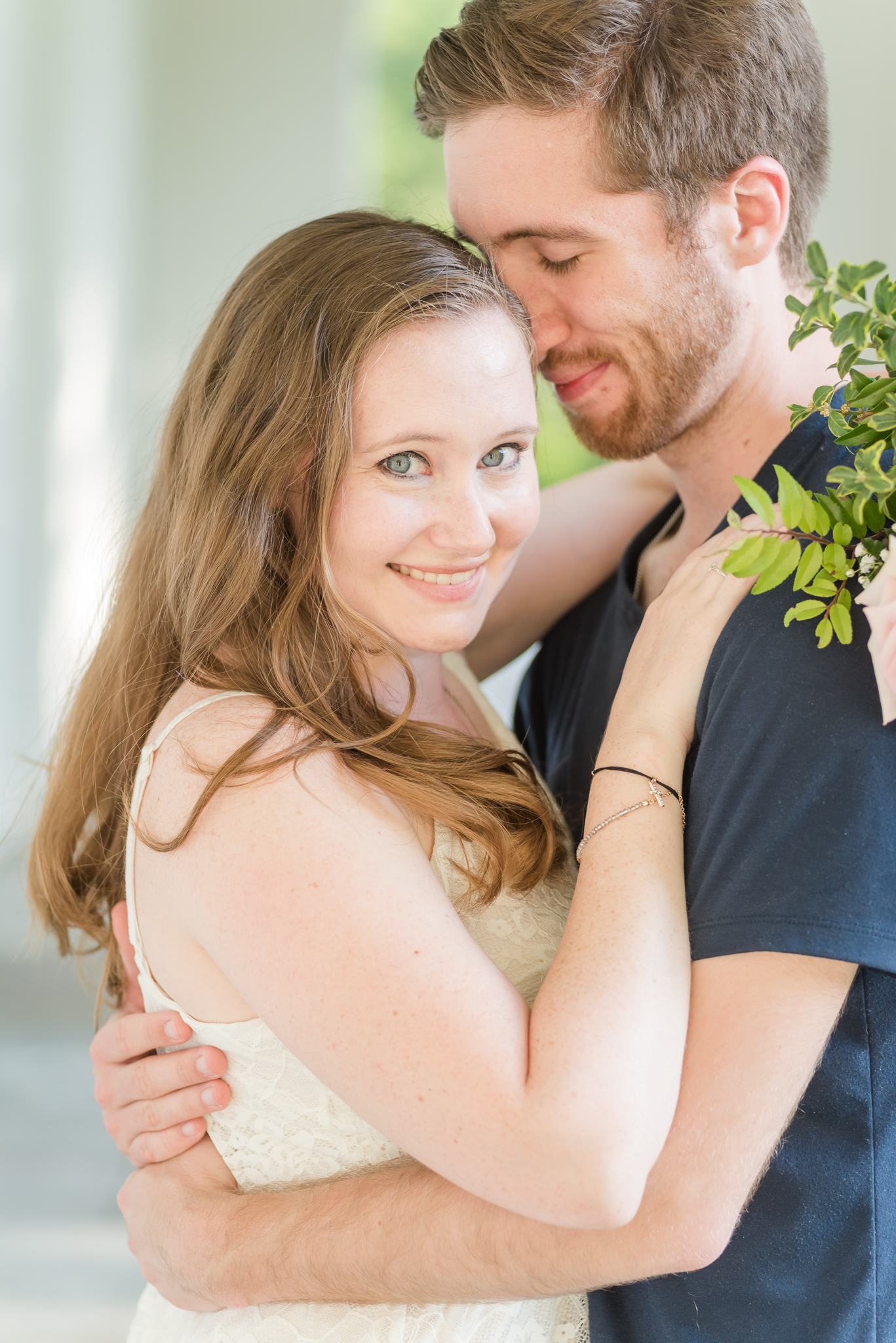 Spring Engagement Session at Newfields Indiana Museum of Art Wedding Photographer-9.jpg