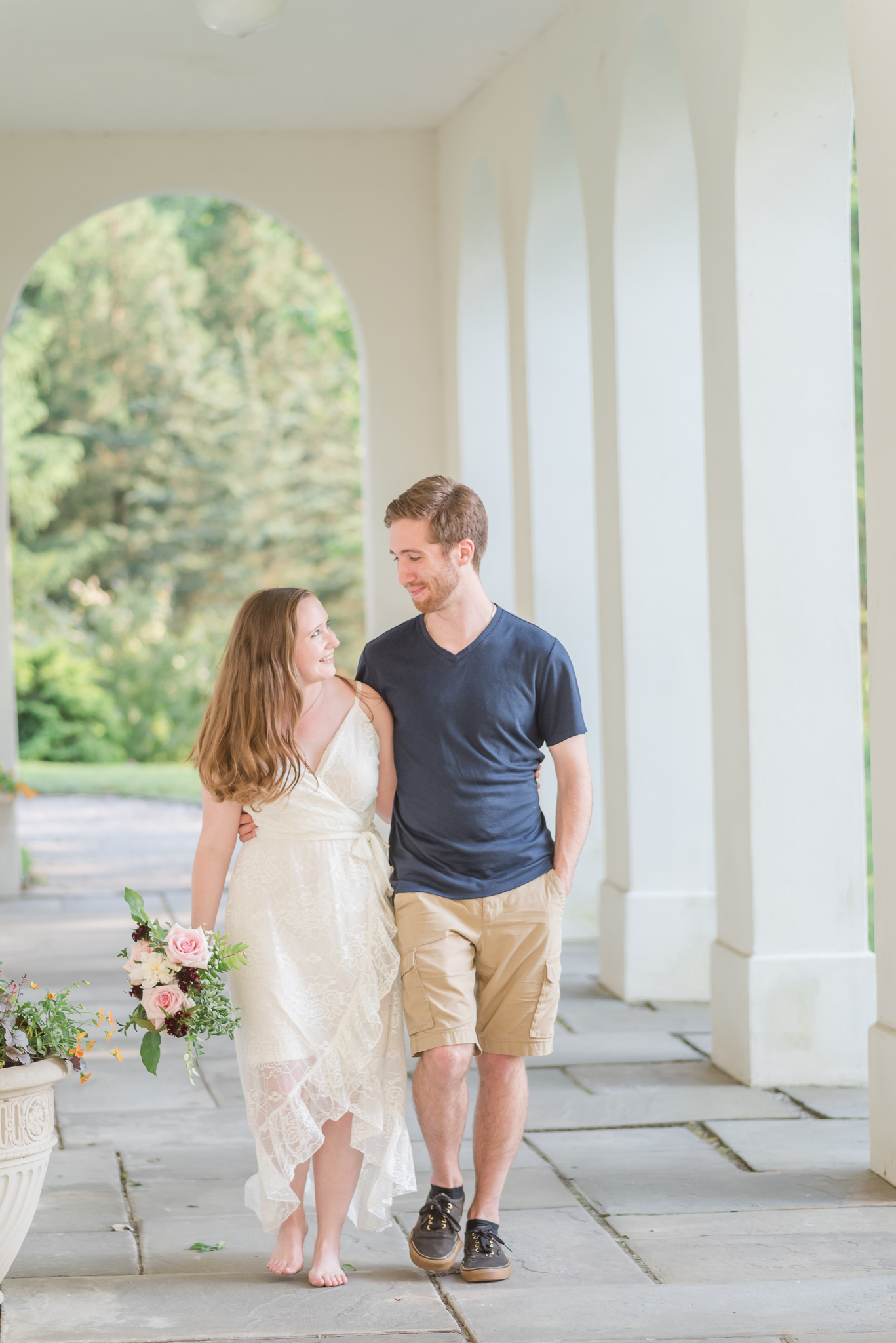 Spring Engagement Session at Newfields Indiana Museum of Art Wedding Photographer-11.jpg