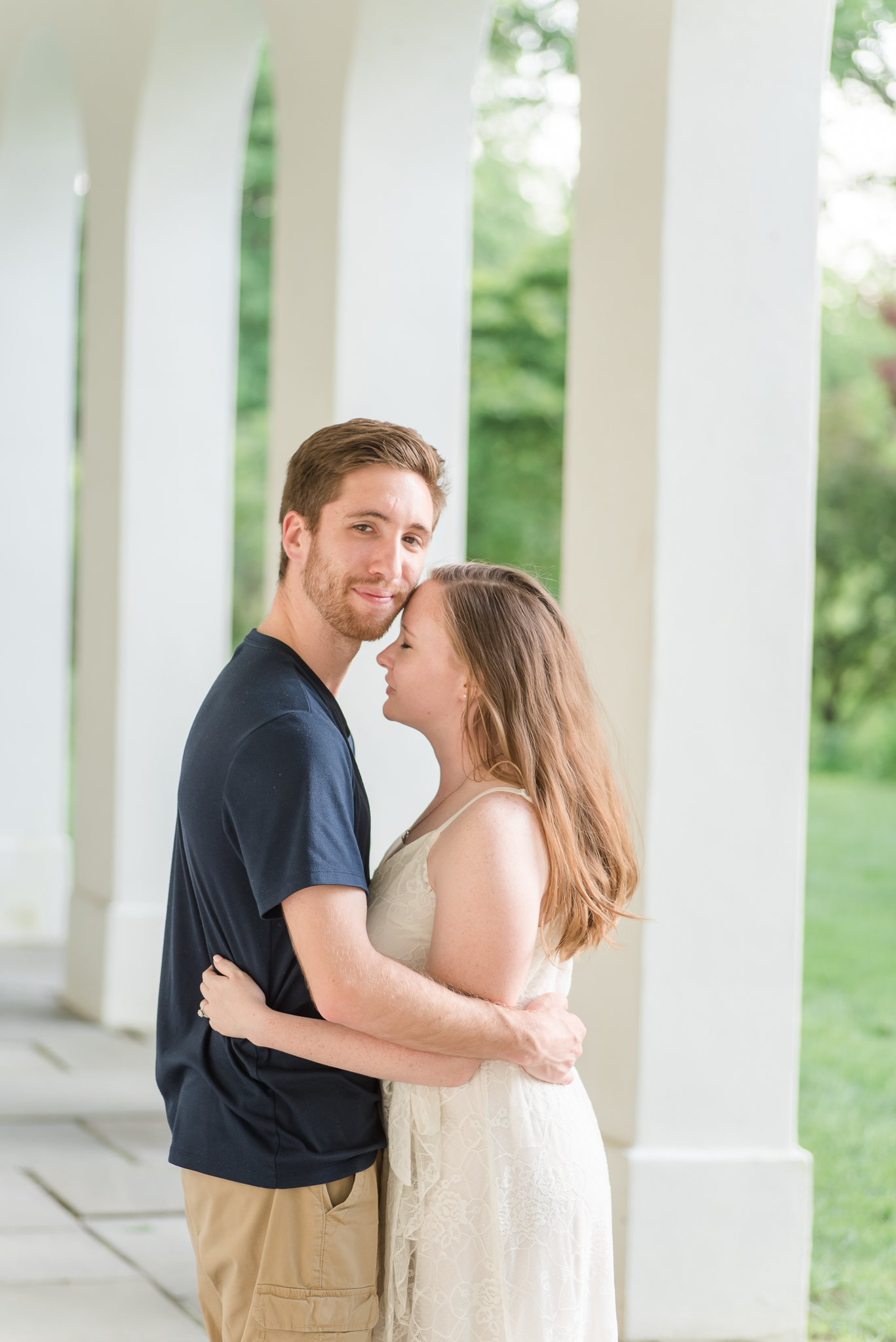 Spring Engagement Session at Newfields Indiana Museum of Art Wedding Photographer-15.jpg