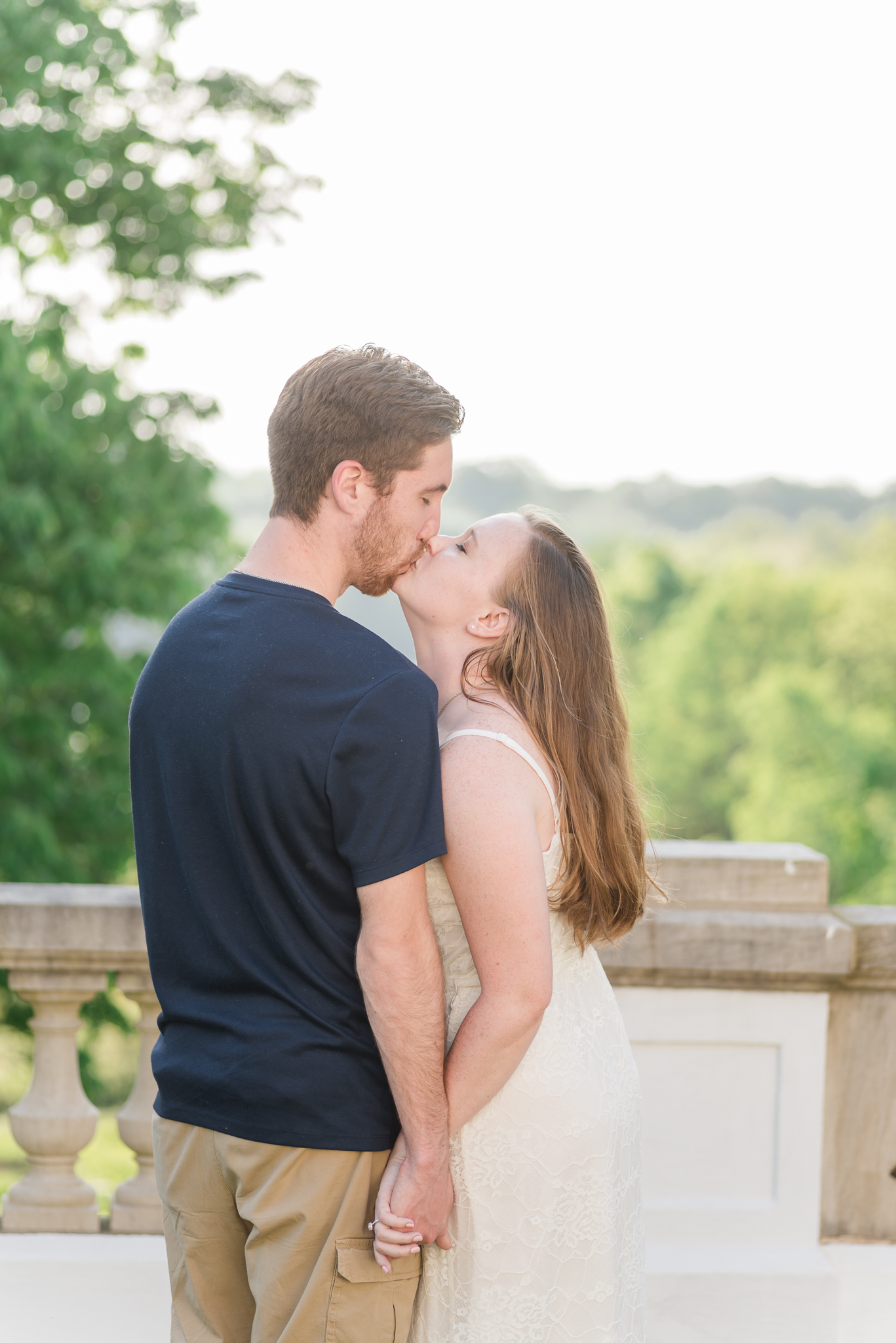 Spring Engagement Session at Newfields Indiana Museum of Art Wedding Photographer-16.jpg
