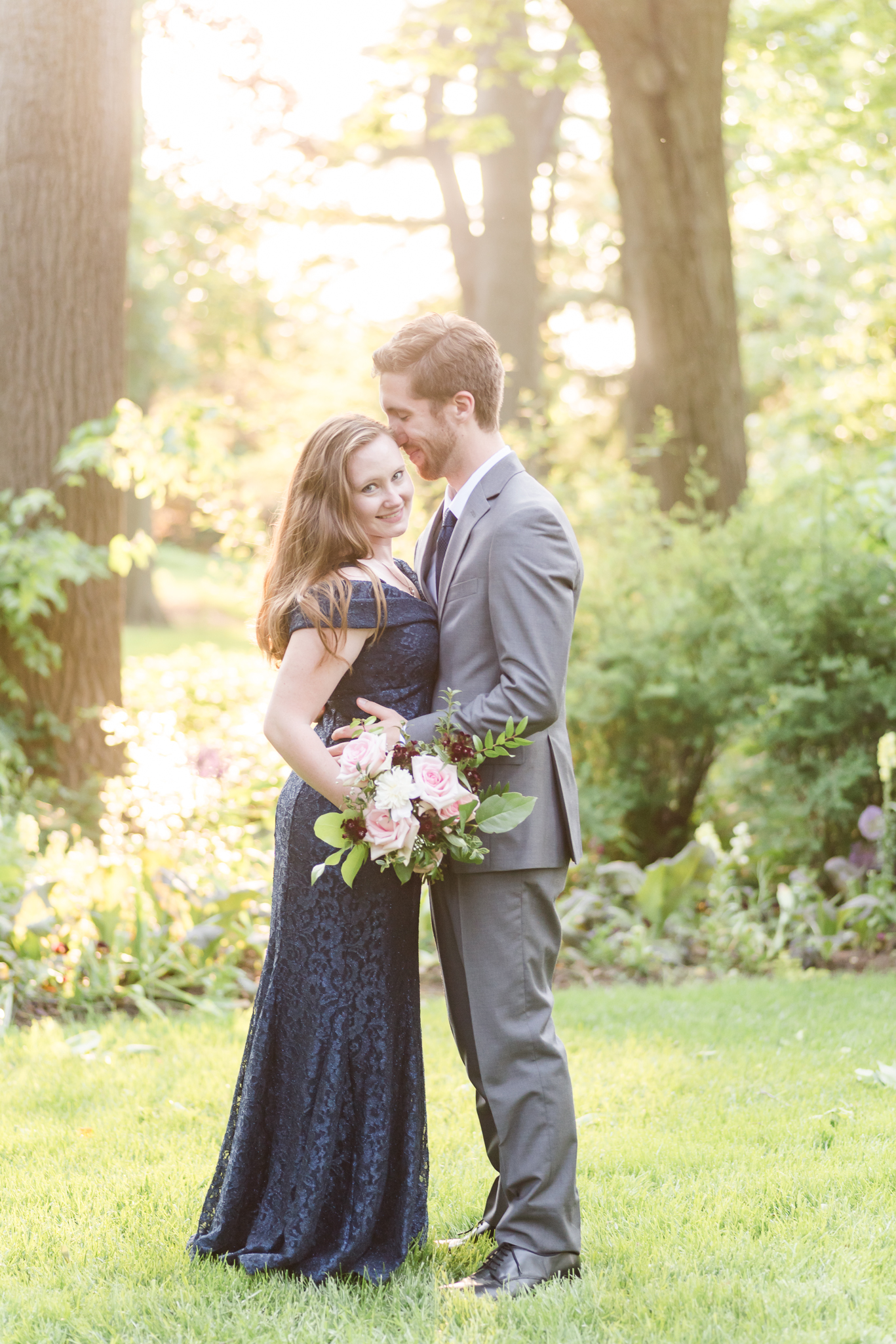 Spring Engagement Session at Newfields Indiana Museum of Art Wedding Photographer-18.jpg