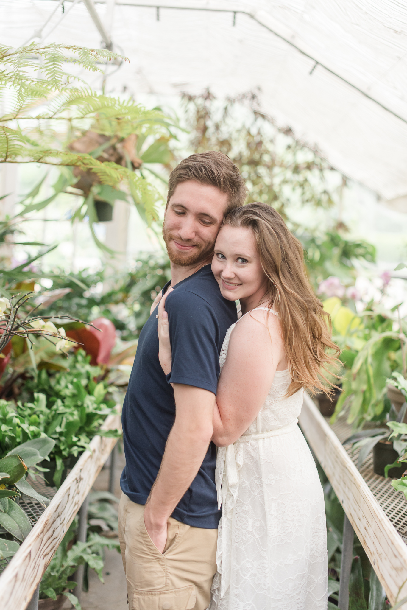 Spring Engagement Session at Newfields Indiana Museum of Art Wedding Photographer.jpg