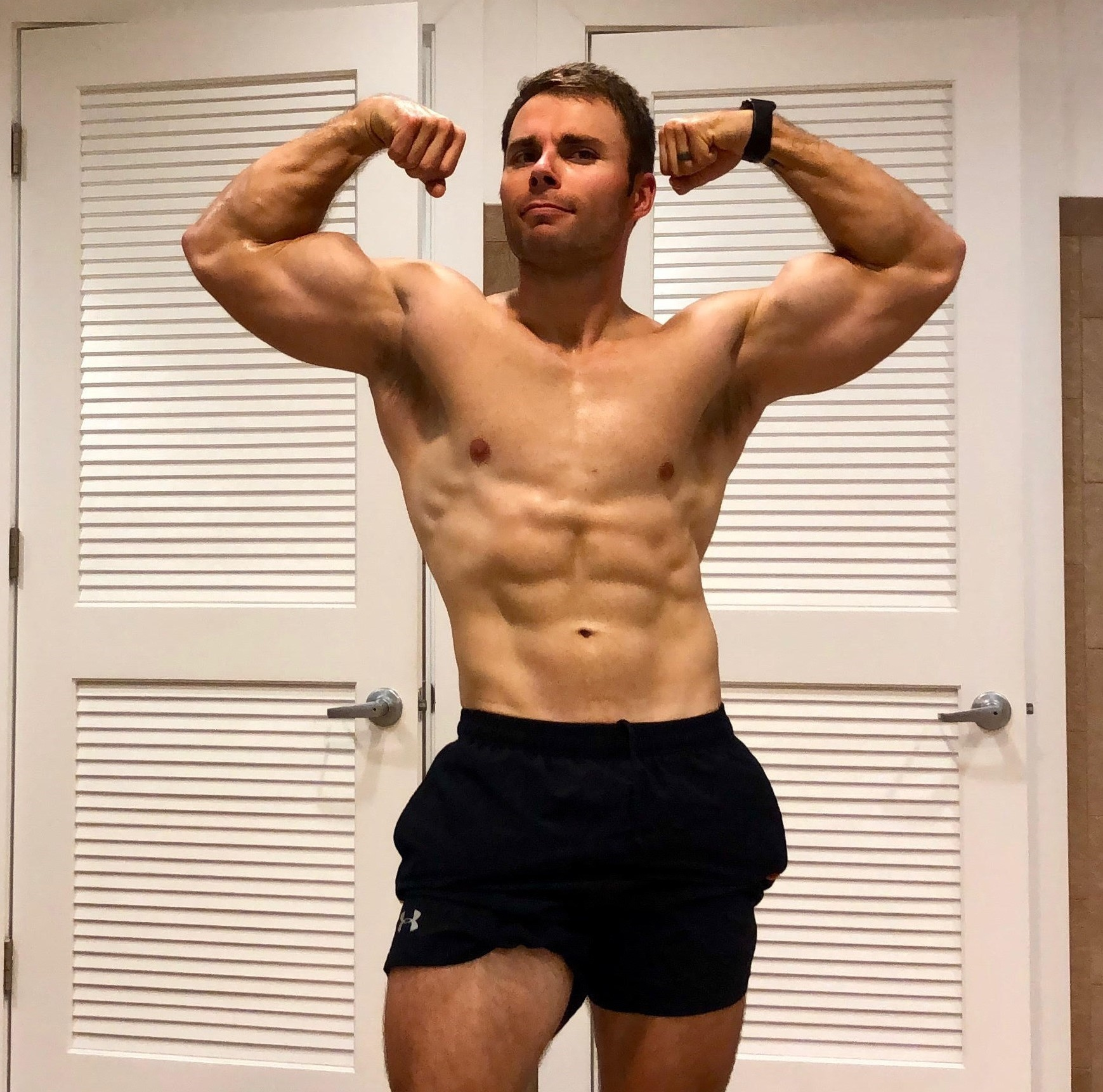Spencer - Spencer is a police officer and former athlete who loves to run, bike, and lift weights. He is a very disciplined individual but lacked the know how when it came to nutrition. Spencer has lost 18lbs of body weight and gained strength on his major lifts so far!