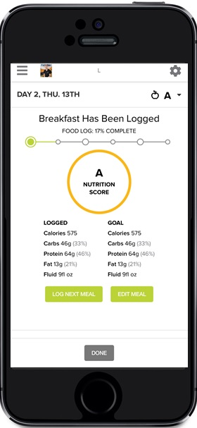 Integrated Food Tracker