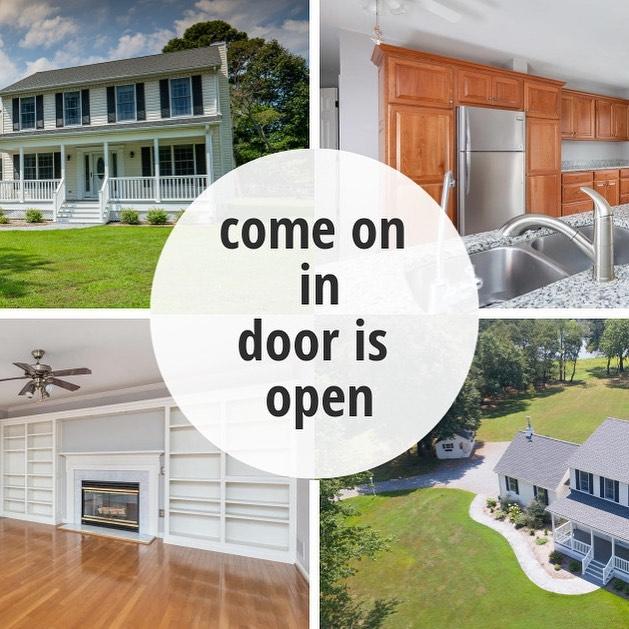 OPEN HOUSE TODAY, 11-2!  Waterfront!  8190 Bozman Neavitt Rd. $450,000