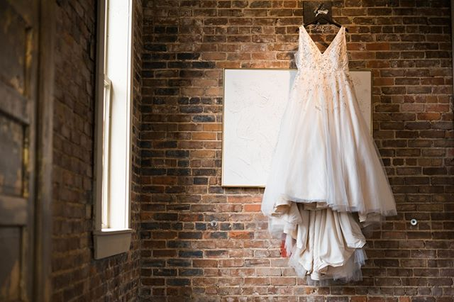 @thebottlingcompany downtown has this perfect location for hanging your dress, and well - we took advantage of it. We also found another spot for a bit of variety, but this one is just too perfect not to show the world.  Wedding days should be all about you and your partner, but if you're getting dressed up all fancy and looking good, why not show a bit of love to those items as well?  Swipe left to see the groom's shoes and cuff links!  #hattiesburg #hattiesburgms #beablissbride #thebottlingcompany #mississippibride #shesaidyes #radlovestories #junebugweddings #downtownhattiesburg #getdowntown #lovestories #hattiesburgweddingphotographer #hattiesburgweddingphotography #jacksonwedding #jacksonweddingphotographer #biloxiweddingphotographer #nolawedding #nolaweddings #nolabride #greenweddingshoes #weddingphotographer #weddingphotography #mississippiphotographer #mississippiartist #hattiesburgphotographer #stlouisbride #edwardsvillewedding #springfieldilwedding #midwestwedding