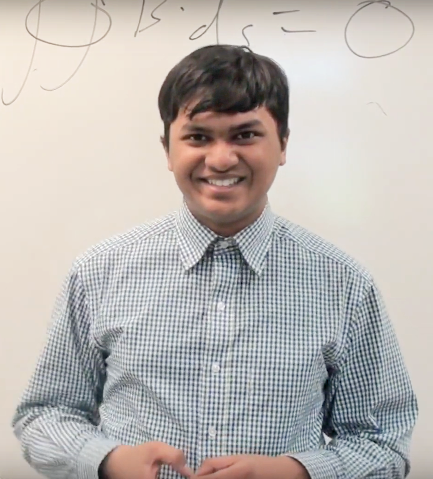 Noble Mushtak - Math whiz jumped into expanded opportunities