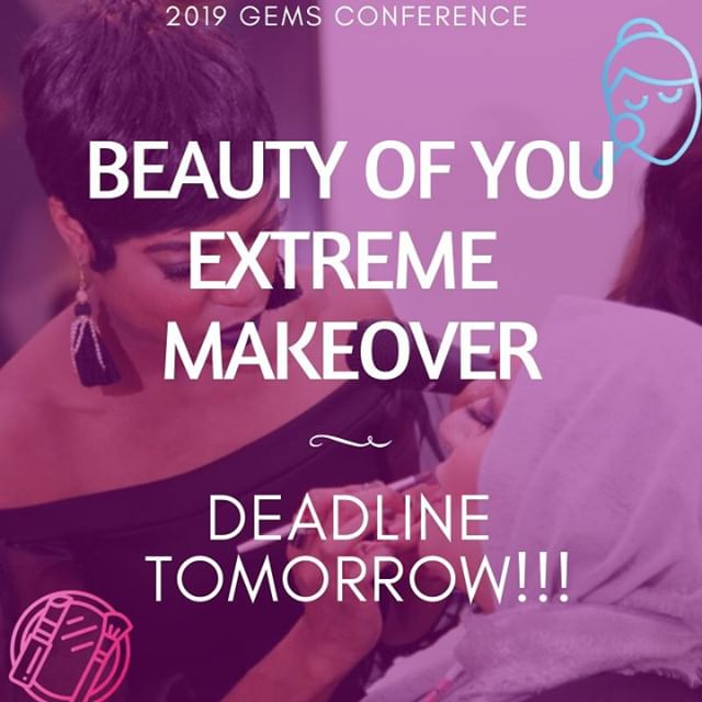 DID YOU SIGN UP YET?? 💄 👗 We need your application & parental consent form by 5 PM TOMORROW. Get ready to show off your new style! More info on the website: http://ow.ly/XL2I50mLEsd