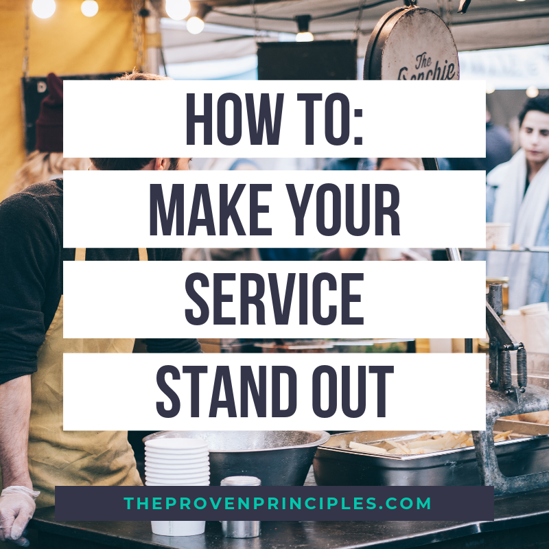How to improve service
