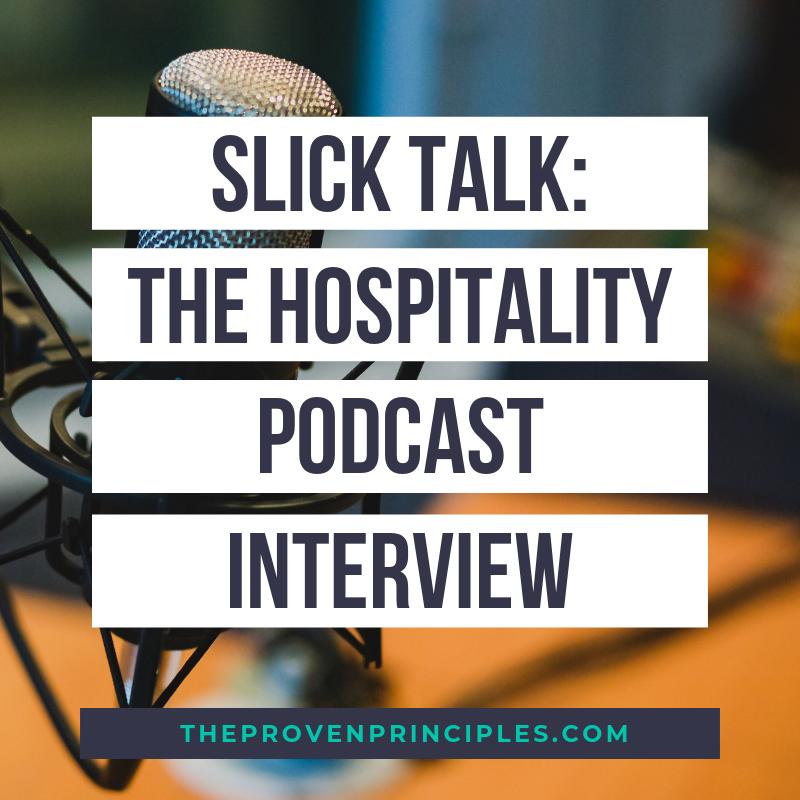 Slick Talk The Hospitality Podcast