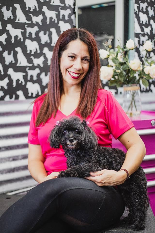 Meet Heather, Salon Manager!  Hi, I am an academy trained pet stylist & have been in the grooming business for 10 years. My love & passion for animals developed when I was a child. Showing & breeding Dalmatians with my family was how I spent my childhood. I worked at a veterinarian hospital for 8 years & then my passion grew into grooming dogs. I have 5 children, 3 teenagers & 2 fur babies.