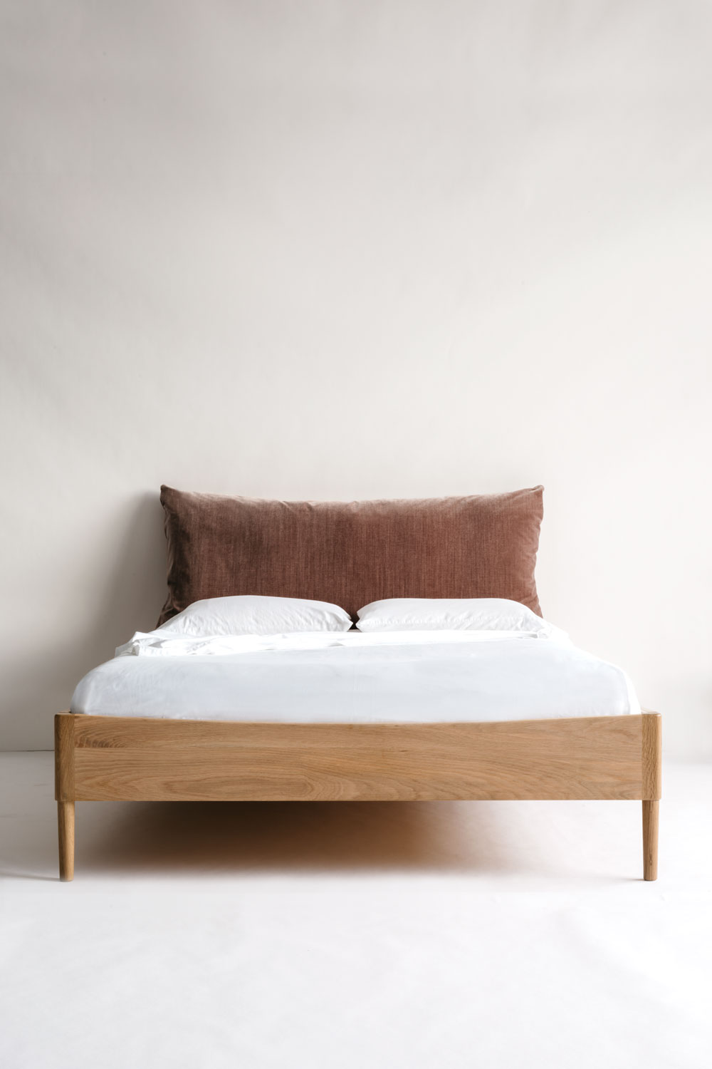 Pillow And Frame Bed