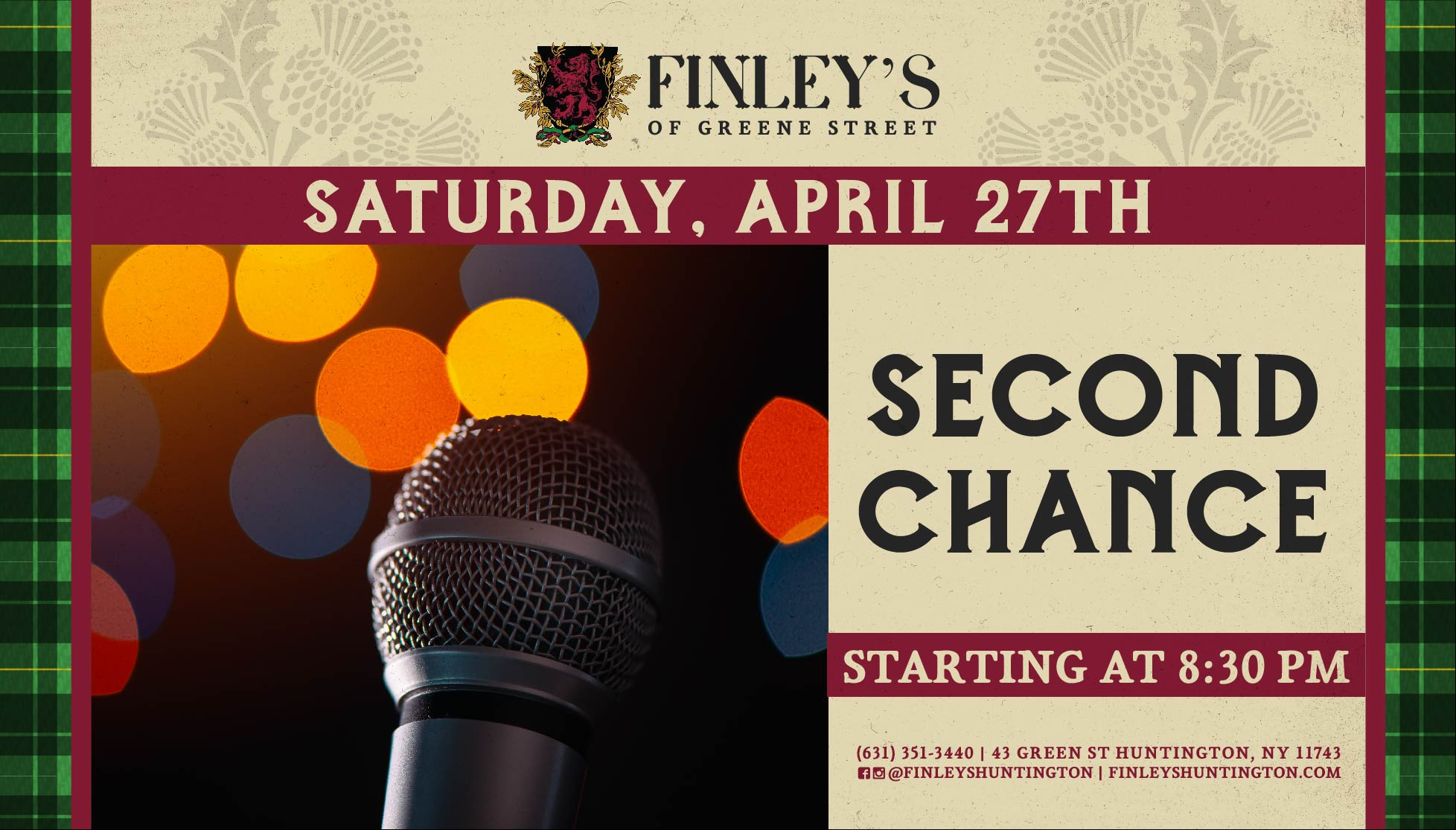 Second Chance Flyer