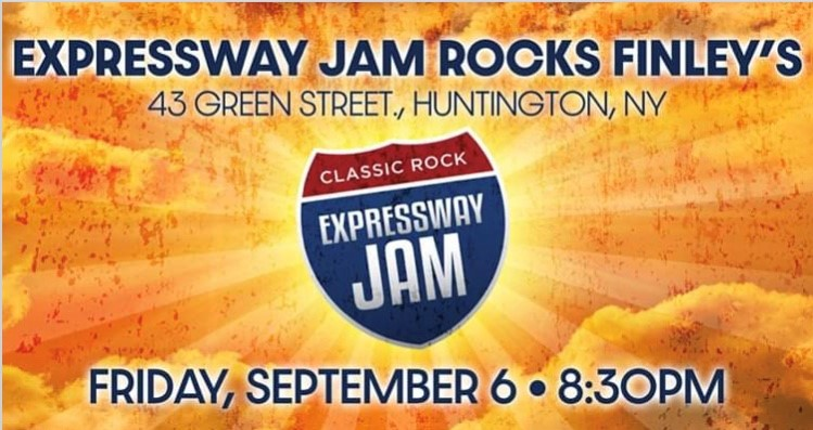 Flyer for live music with Expressway Jam on September 6th at 8:30pm.