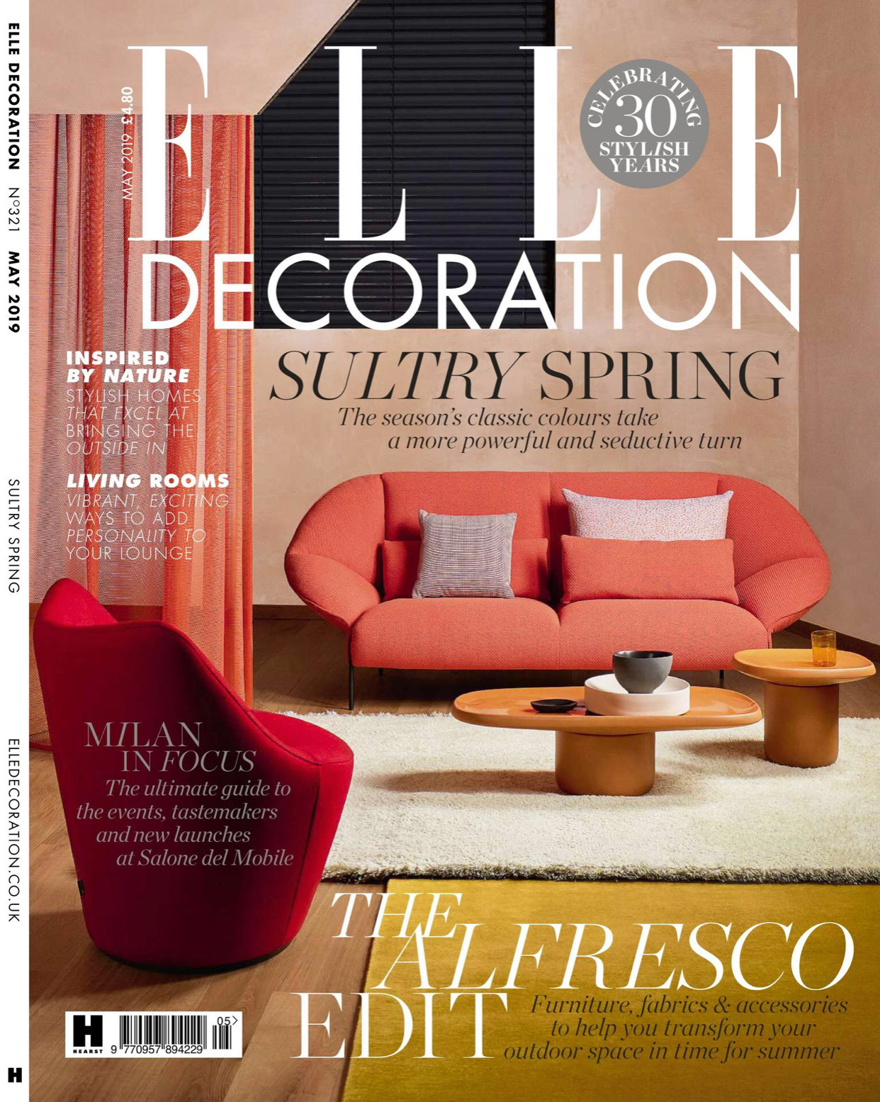 Elle Decoration UK: Art House    May 2019