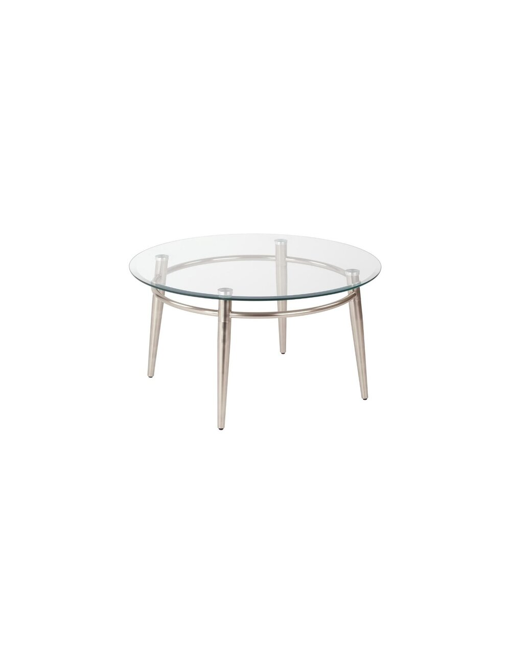 30 Round Glass Coffee Table Dynamic Office Services