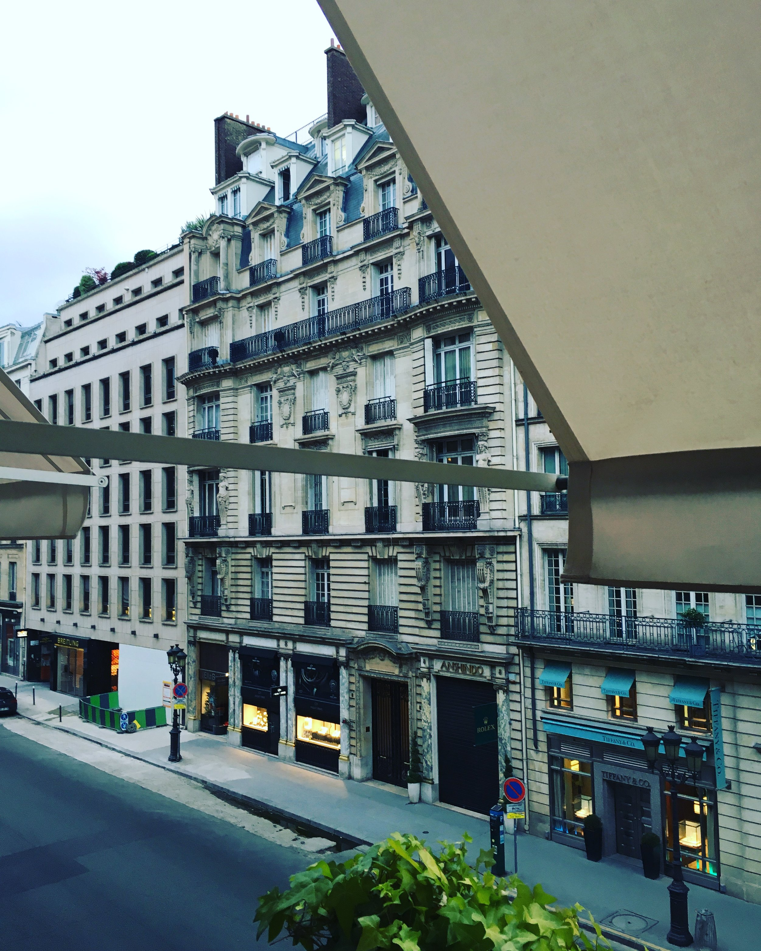 2016 Park Queen with view of Rue de la Paix  | Park Hyatt Paris | Travelhappy Luxury Hotel Review