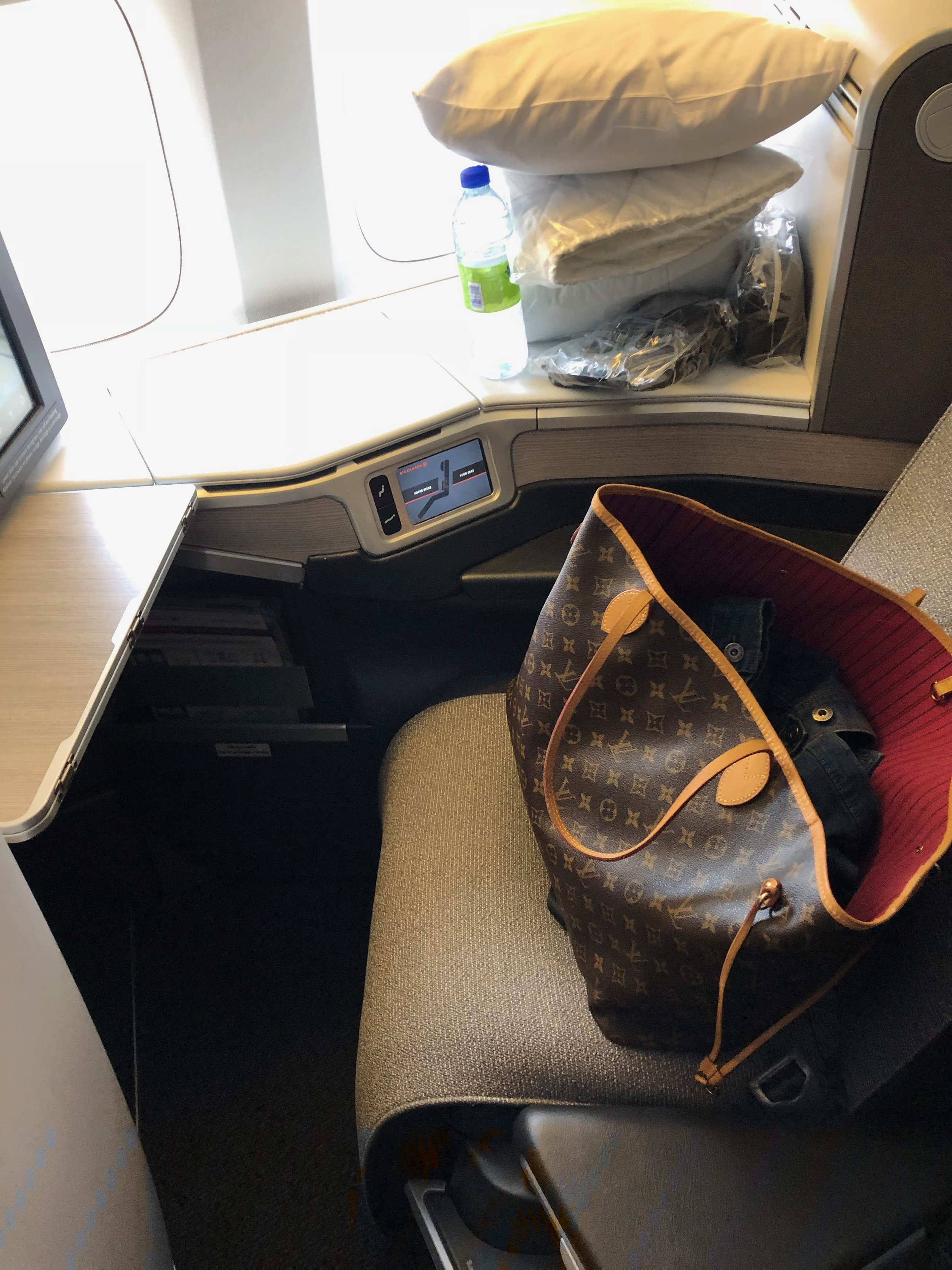 Air Canada Business Class Review Airbus 777-300ER
