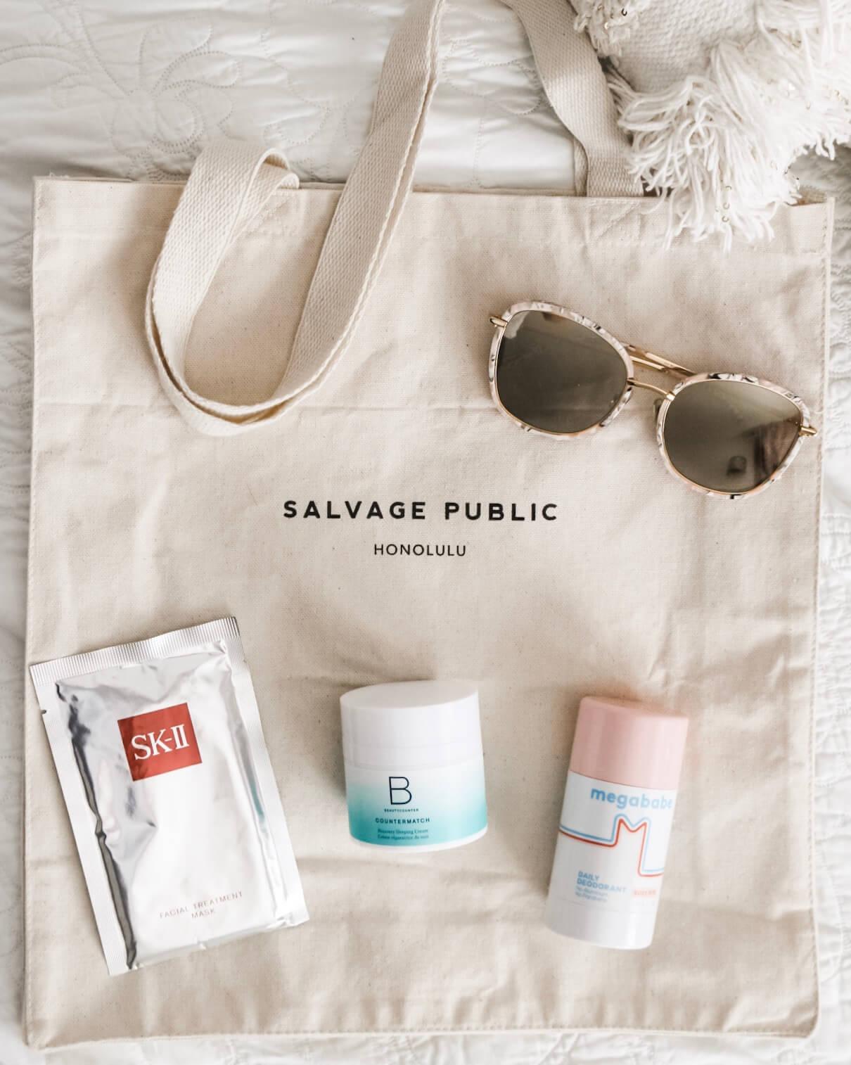 Travel Essentials BeautyCounter-Salvage-GentleMonster-SKIII-megababe.jpg