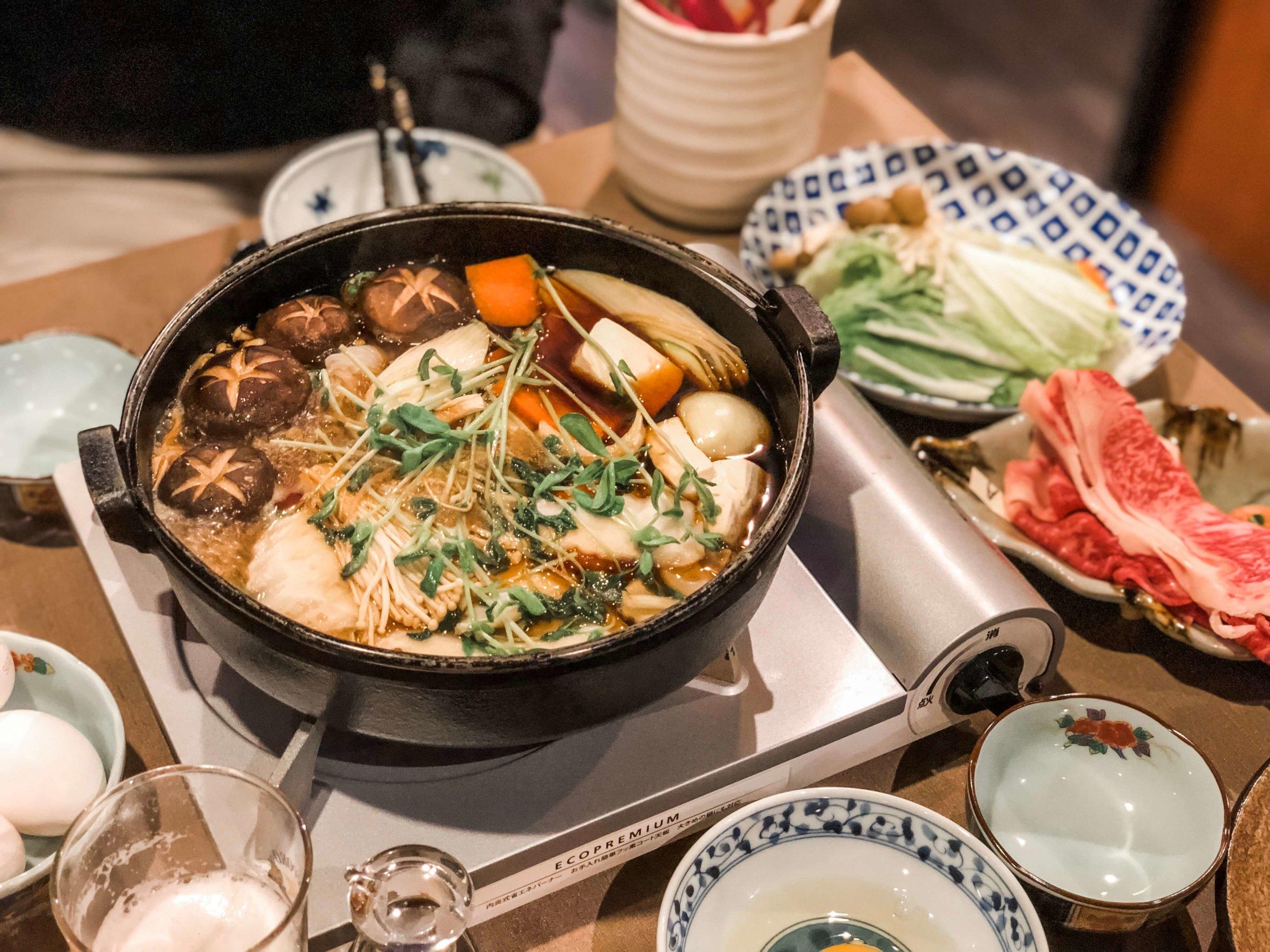 Best places to eat in Niseko Japan - Sessa Hotpot